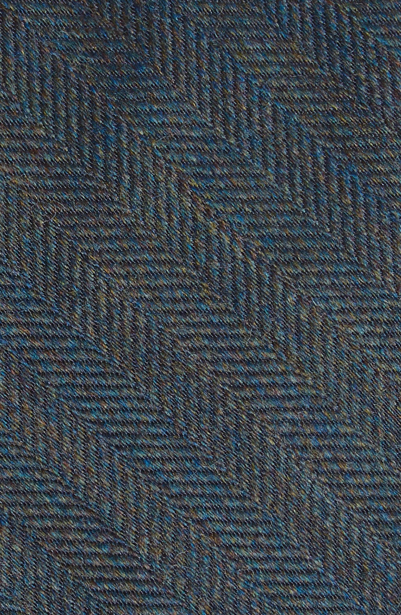 Herringbone Wool & Silk Tie,                             Alternate thumbnail 6, color,