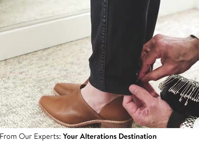 Your alterations and tailoring destination.