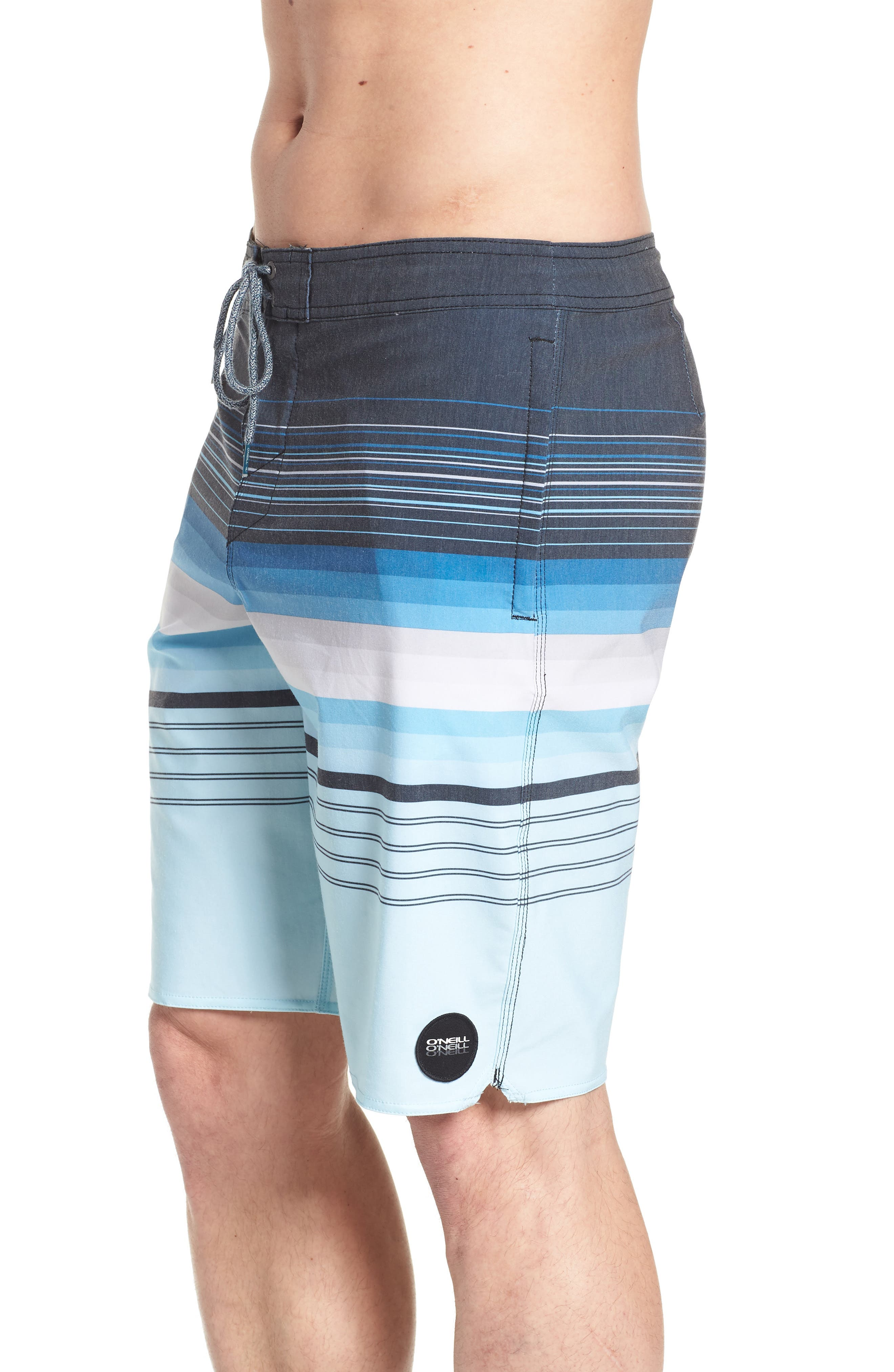 Sandbar Cruzer Board Shorts,                             Alternate thumbnail 4, color,                             NAVY