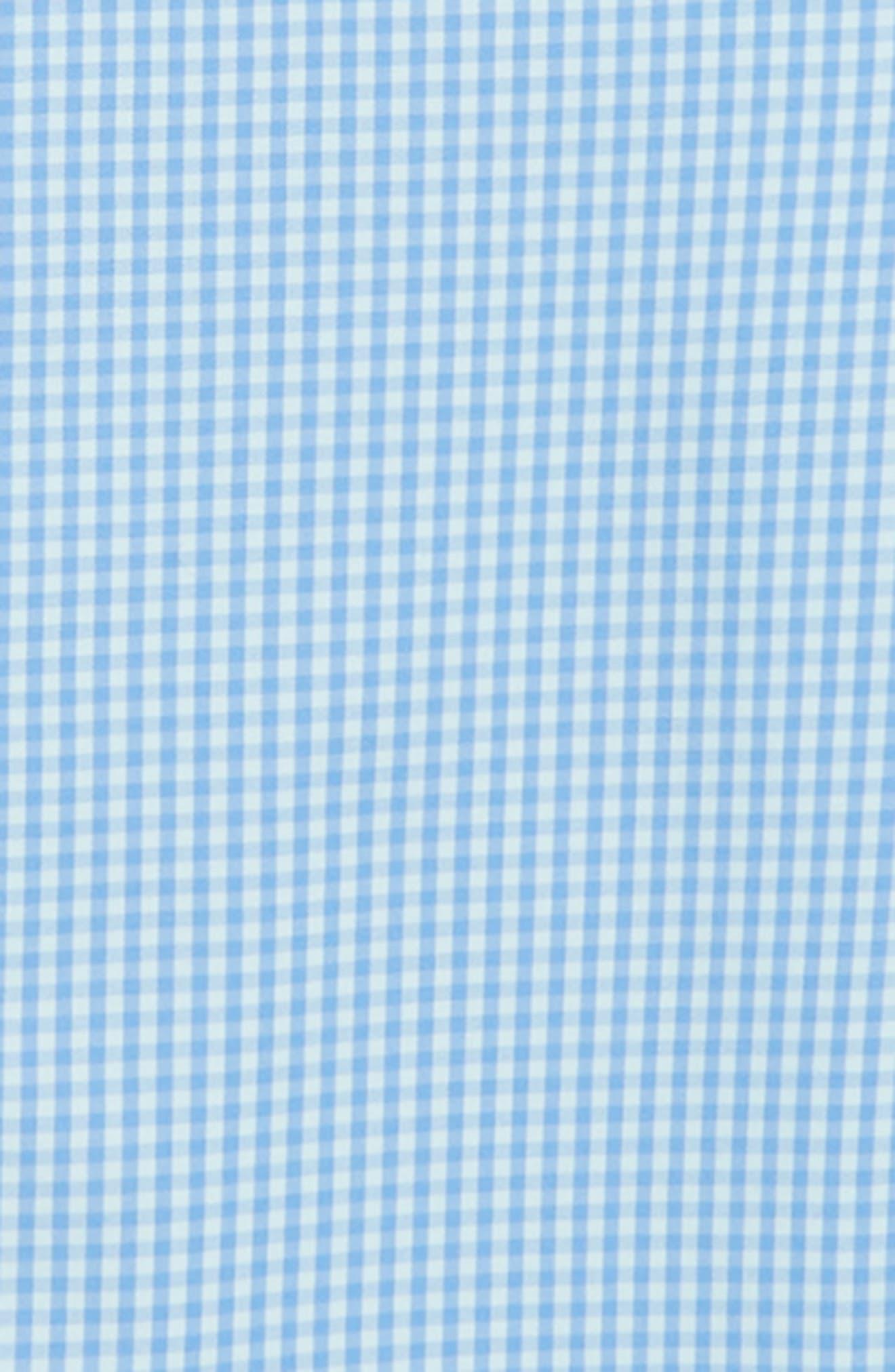 Mink Meadow Check Performance Sport Shirt,                             Alternate thumbnail 2, color,                             400