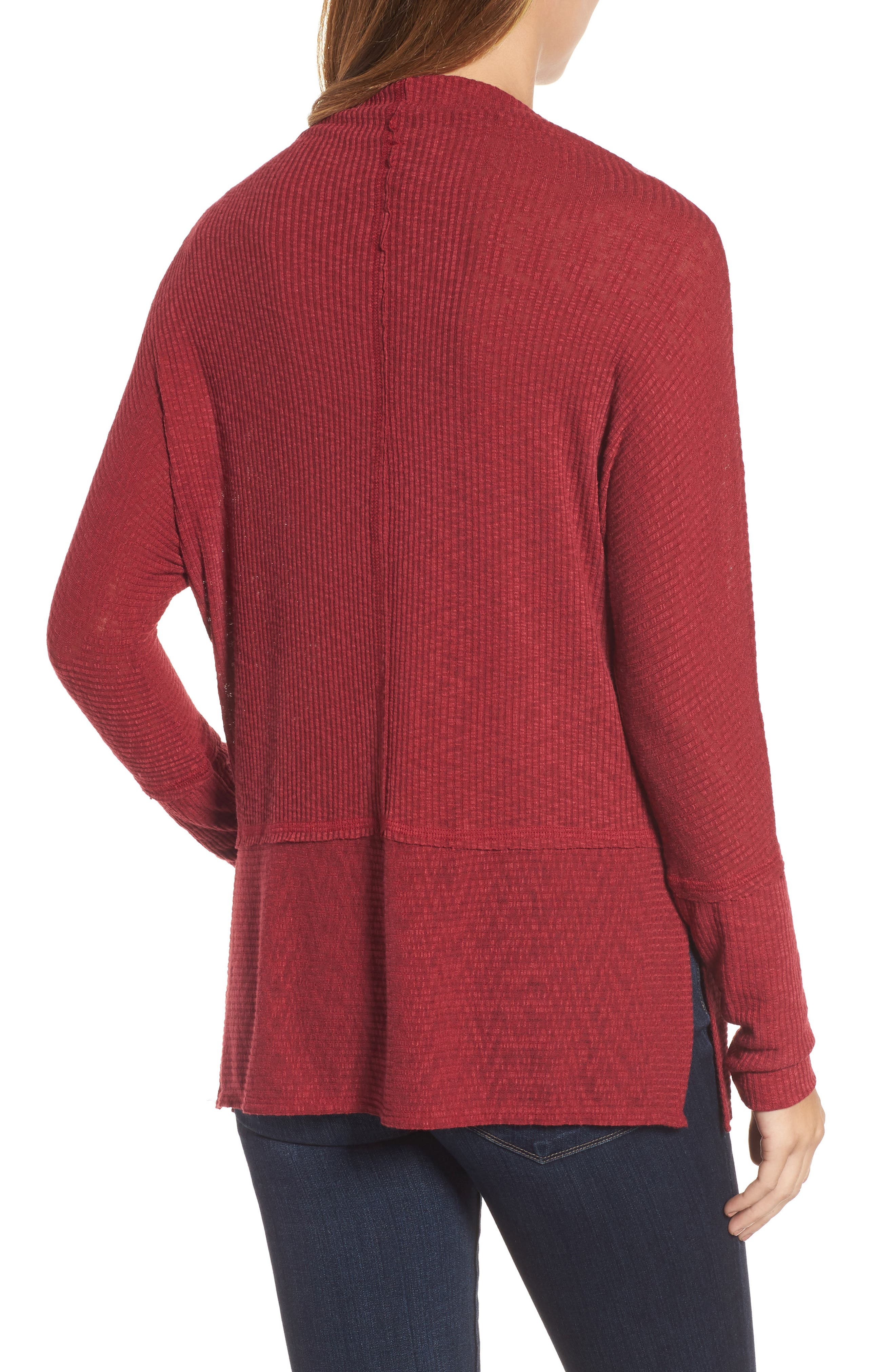 Convertible Wide Neck Top,                             Alternate thumbnail 10, color,
