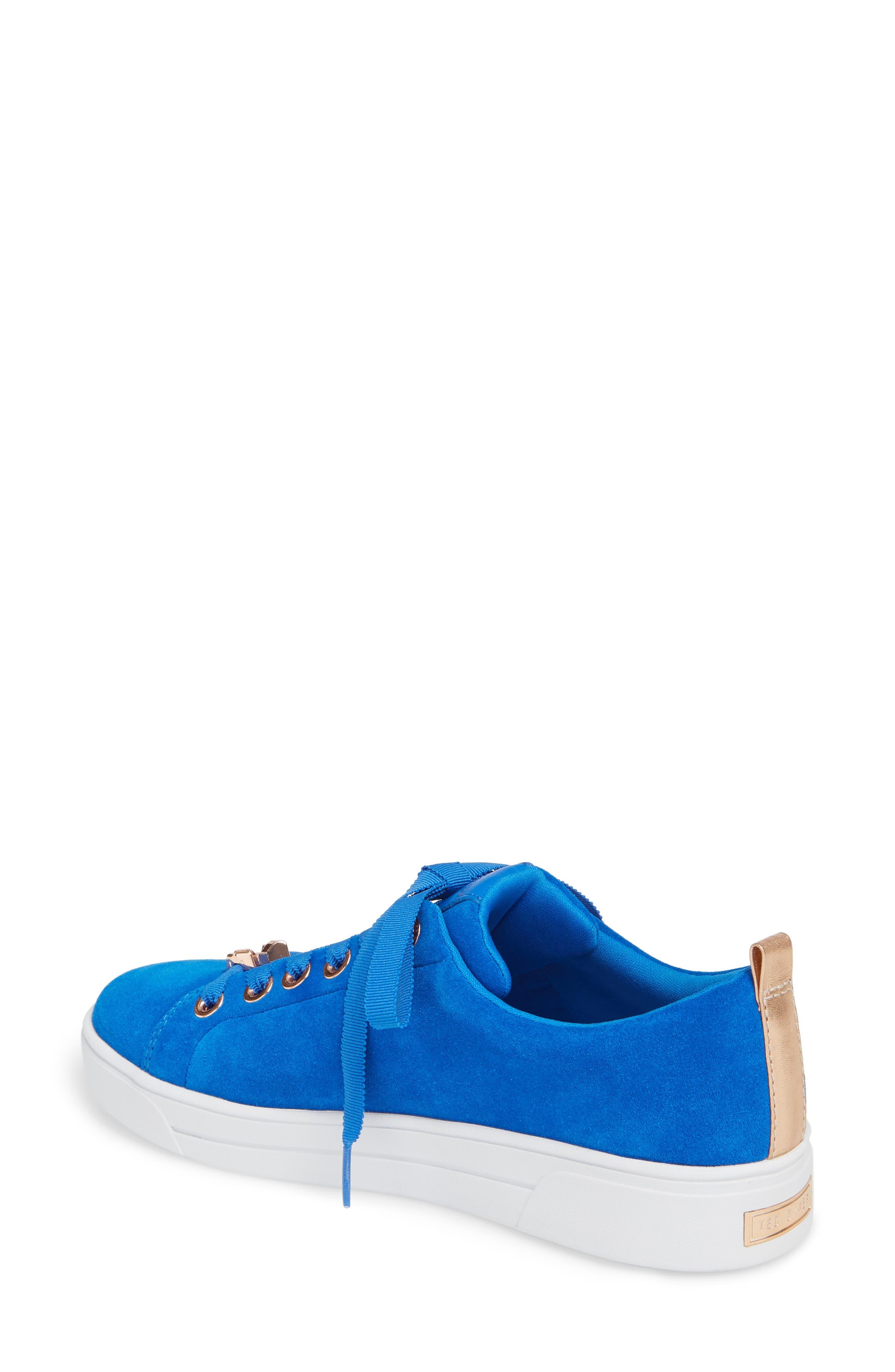 Eryin Sneaker,                             Alternate thumbnail 2, color,                             BLUE HARMONY PRINT SUEDE