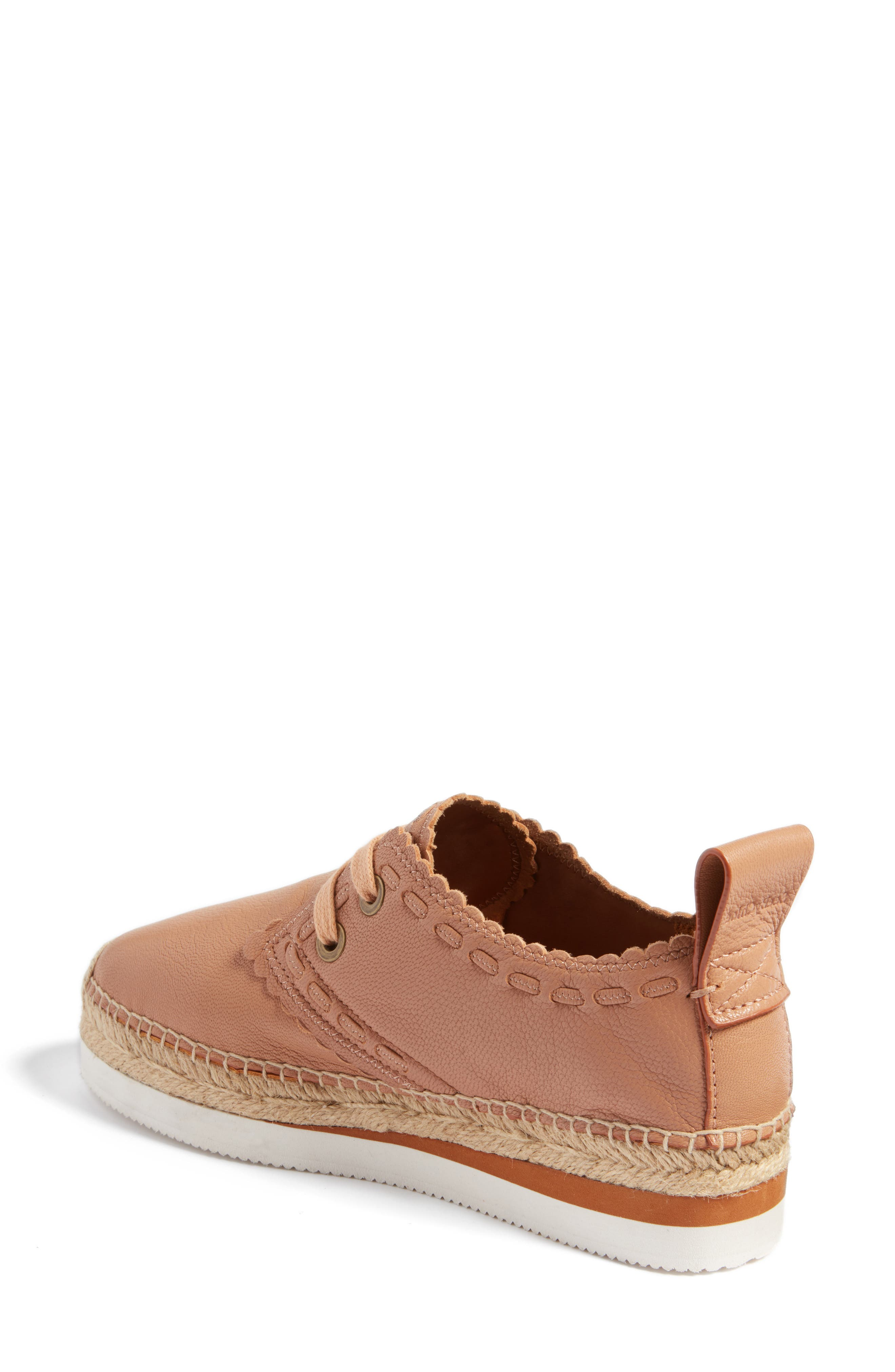 Glyn Espadrille,                             Alternate thumbnail 2, color,                             TOFFEE