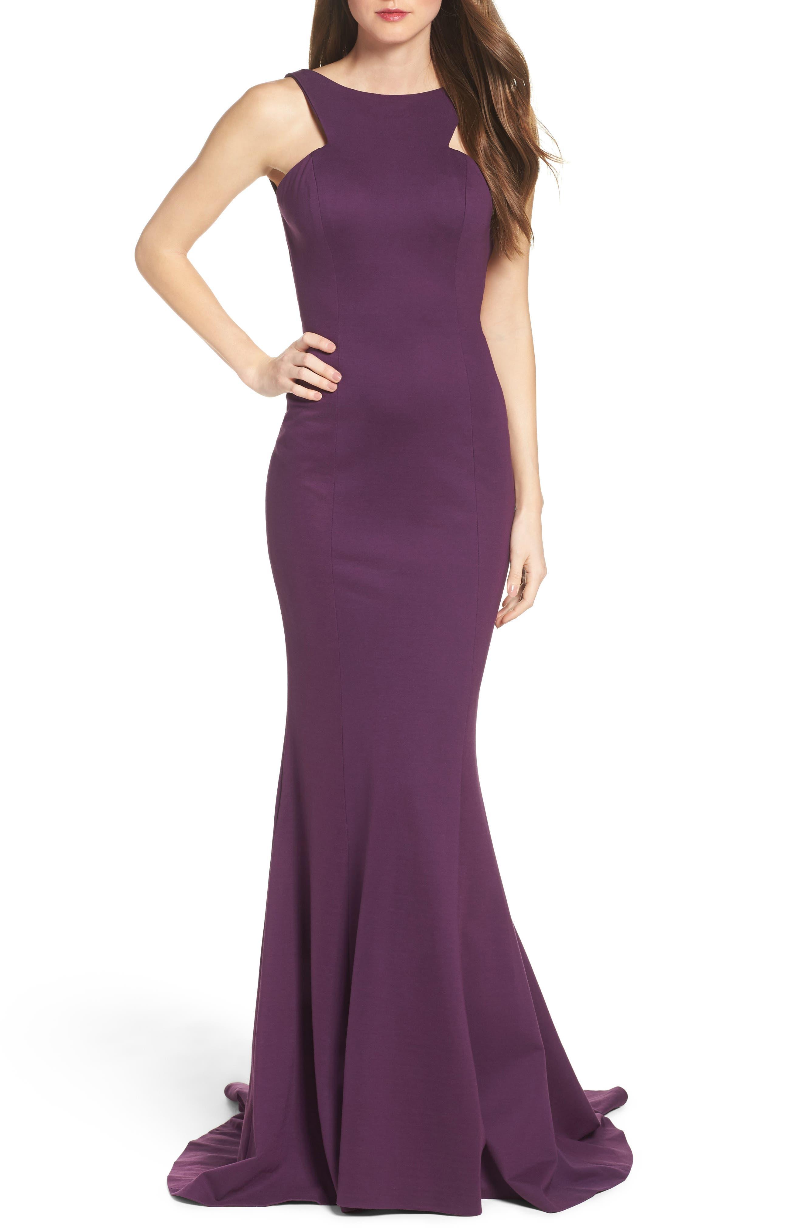 Mermaid Gown, Main, color, 602