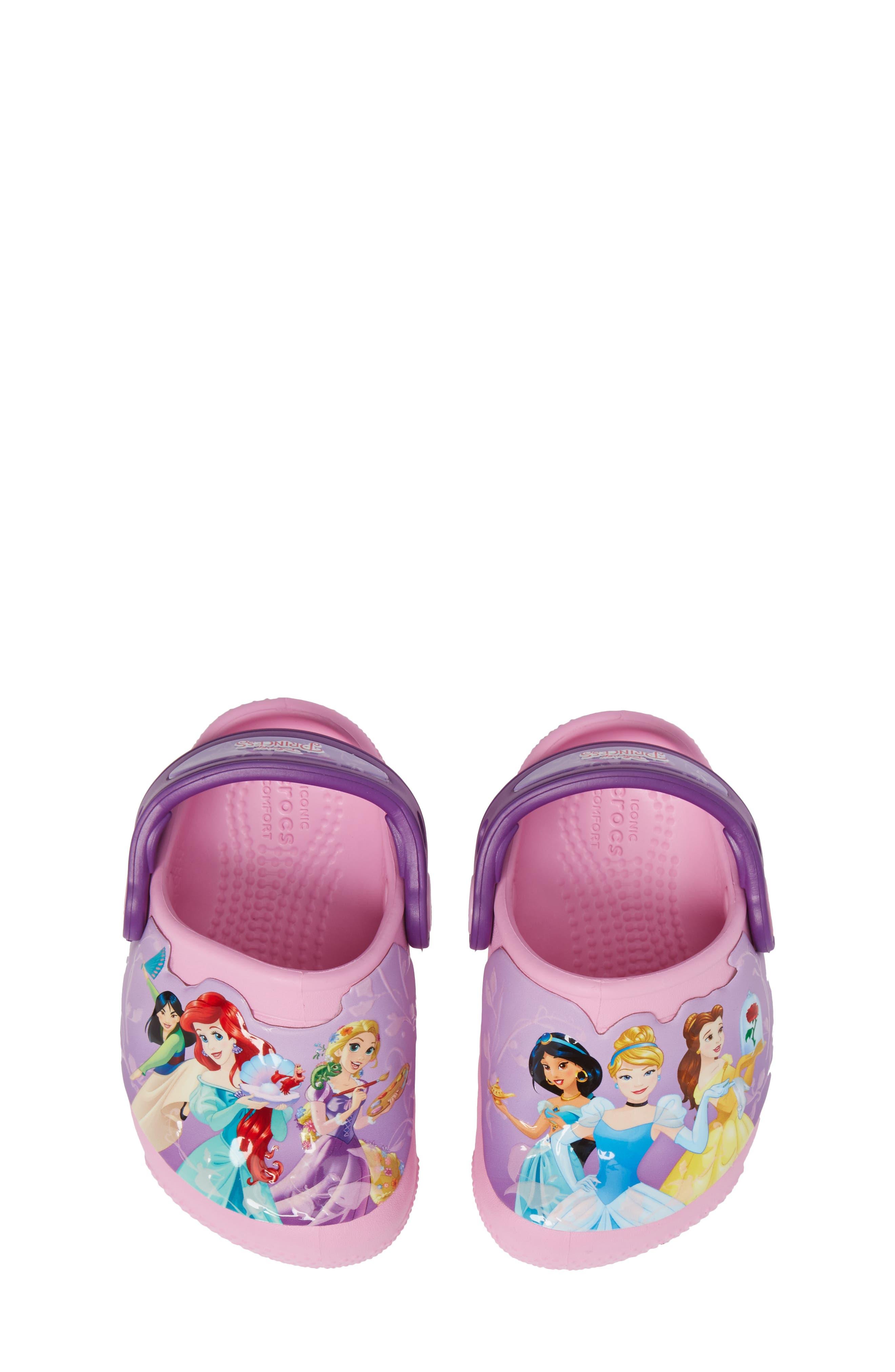 Fun ab Lights Disney<sup>®</sup> Princesses Light-Up Slip-On,                             Alternate thumbnail 5, color,                             570