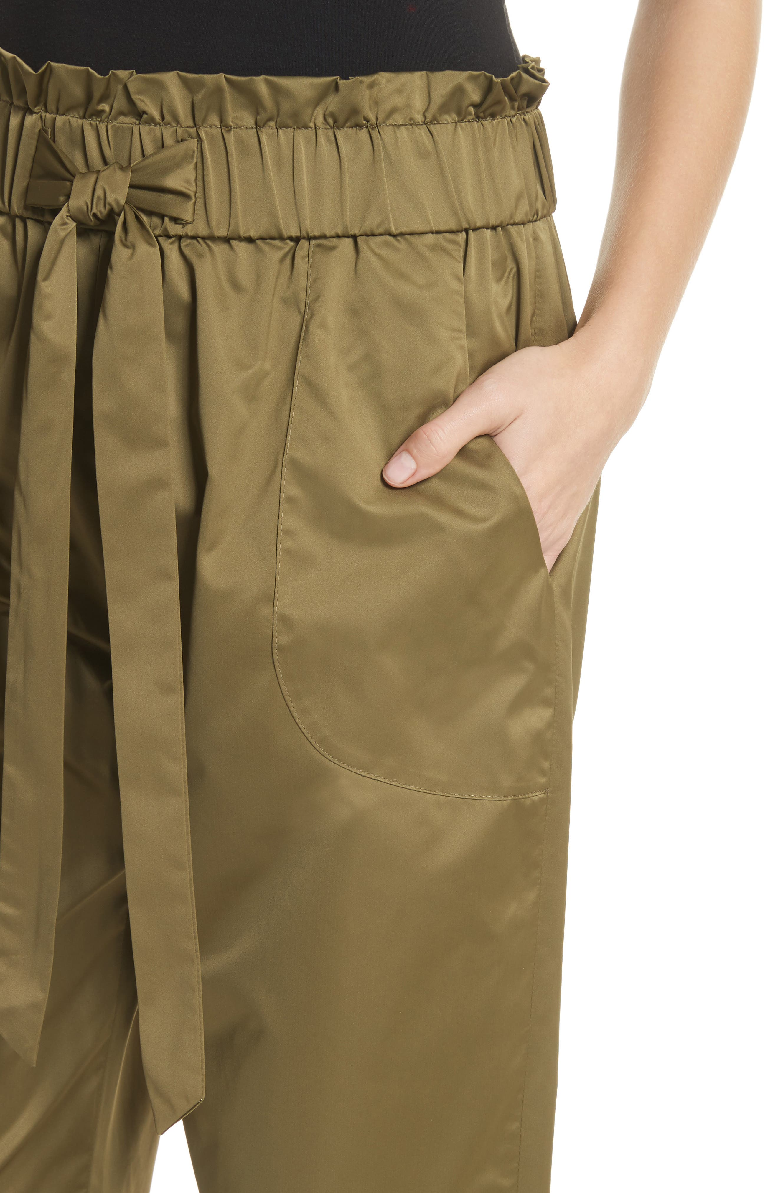 Kori Paperbag Waist Pants,                             Alternate thumbnail 4, color,