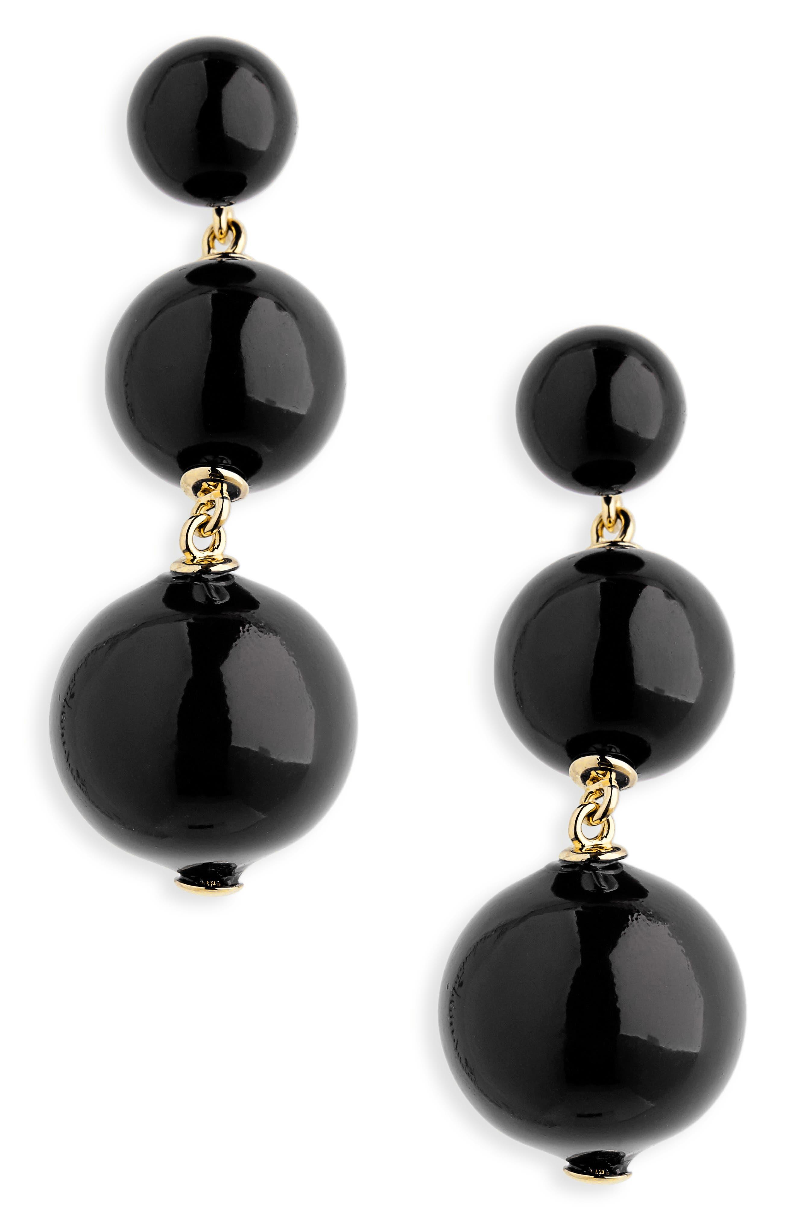 golden girl bauble drop earrings,                             Main thumbnail 3, color,