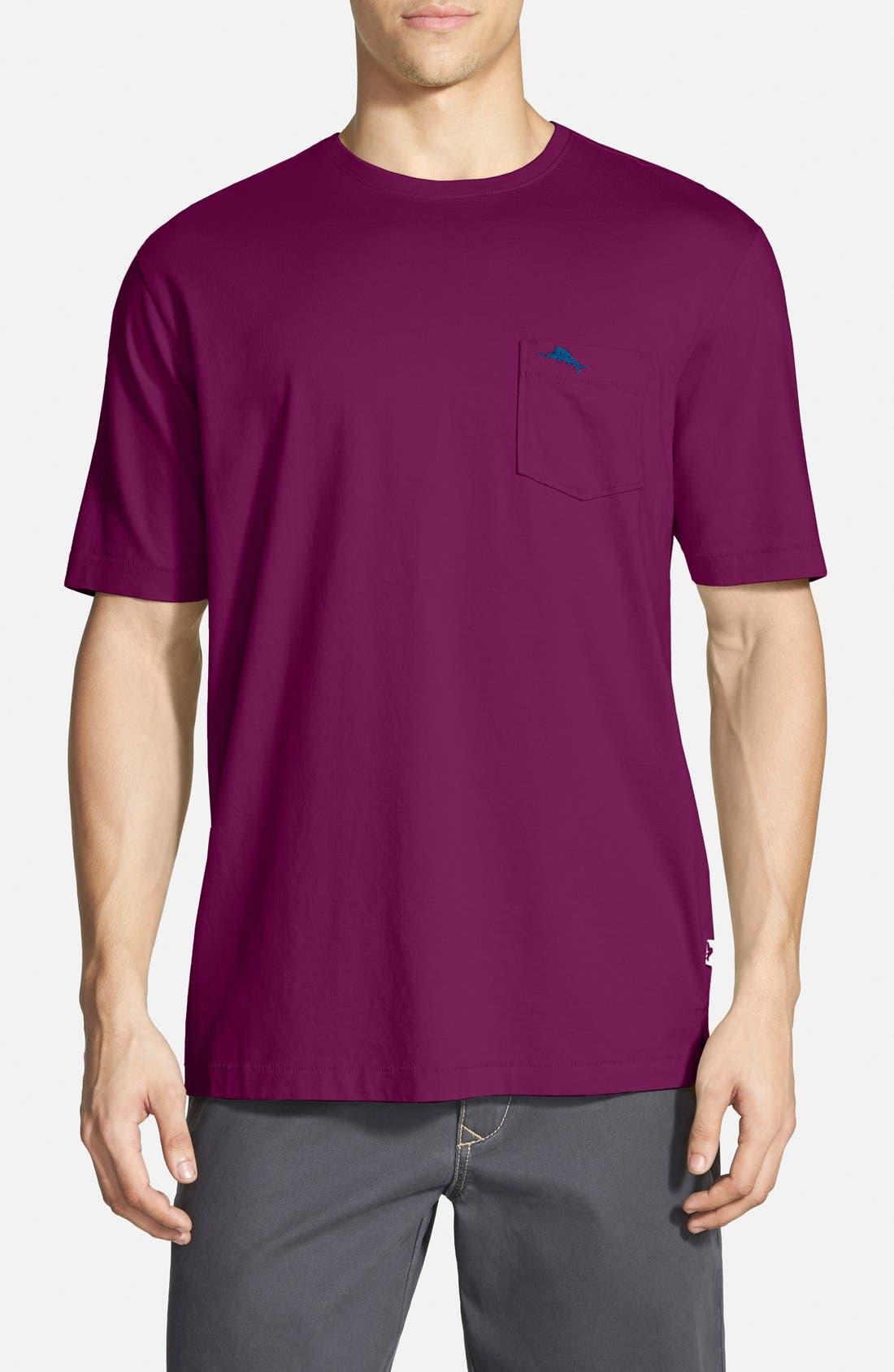 New Bali Sky Pima Cotton Pocket T-Shirt,                             Main thumbnail 42, color,