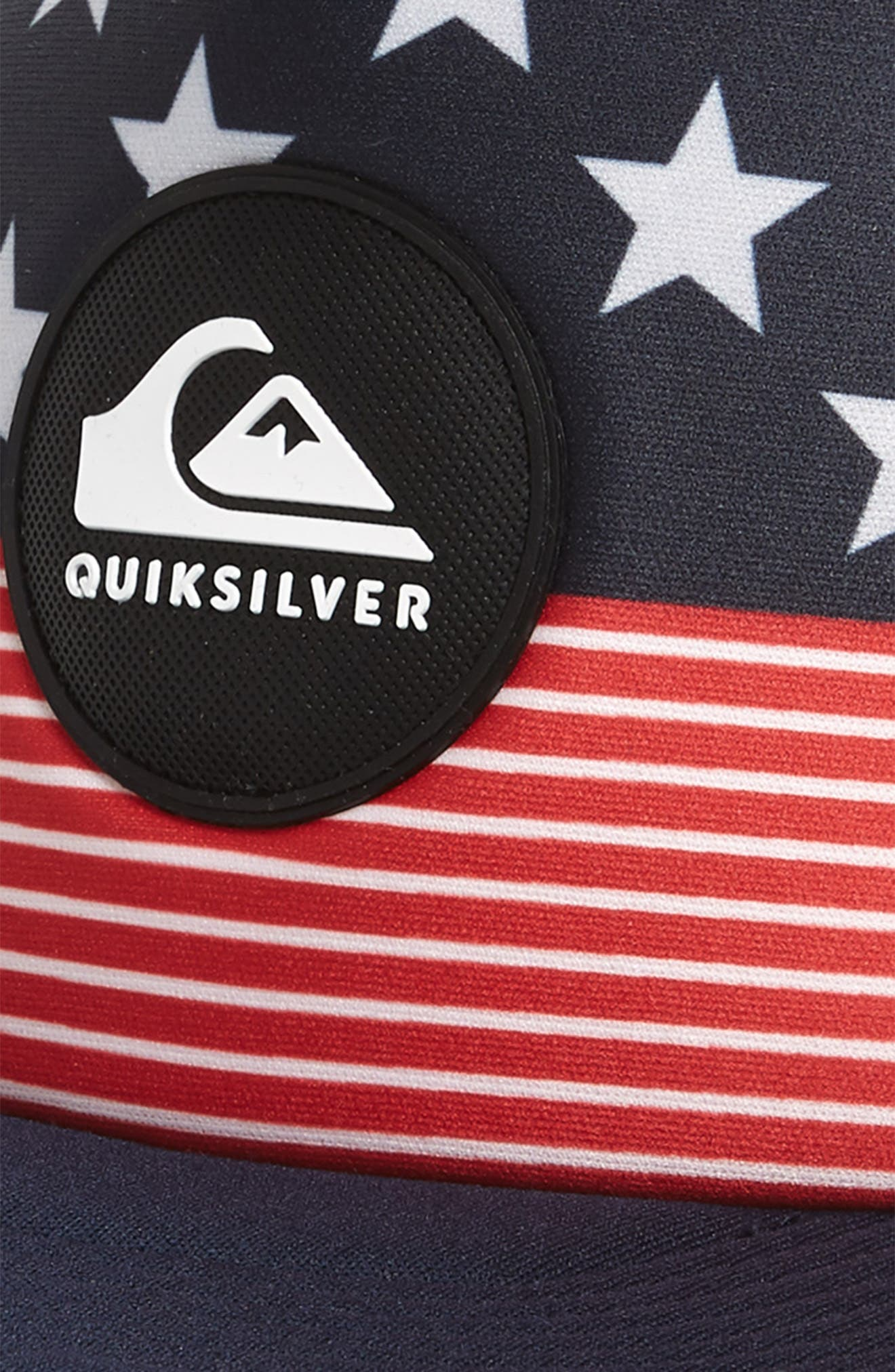 Quicksilver Faded Out Trucker Hat,                             Alternate thumbnail 9, color,