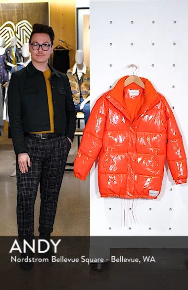 Glossy Puffer Jacket, sales video thumbnail