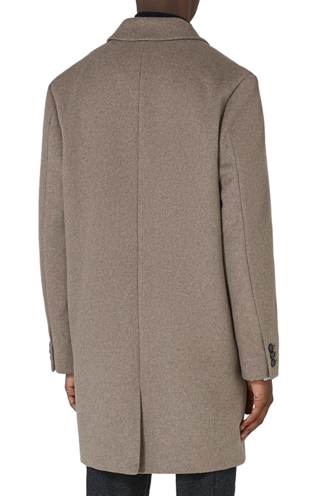 Classic Fit Overcoat,                             Alternate thumbnail 2, color,