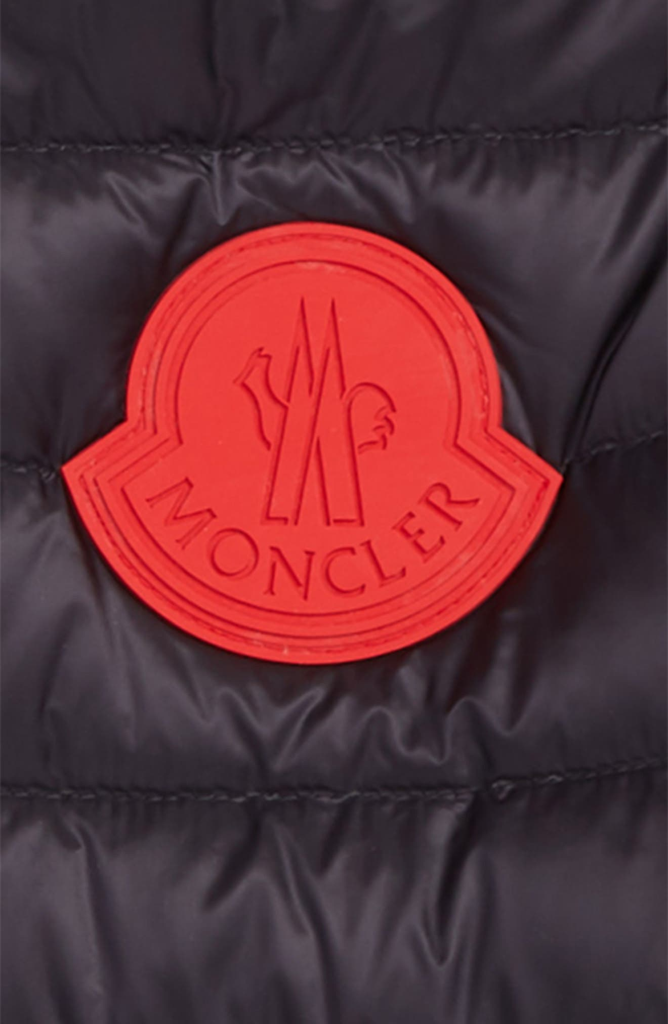MONCLER,                             Motu Quilted Down Bomber Jacket,                             Alternate thumbnail 2, color,                             742 NAVY