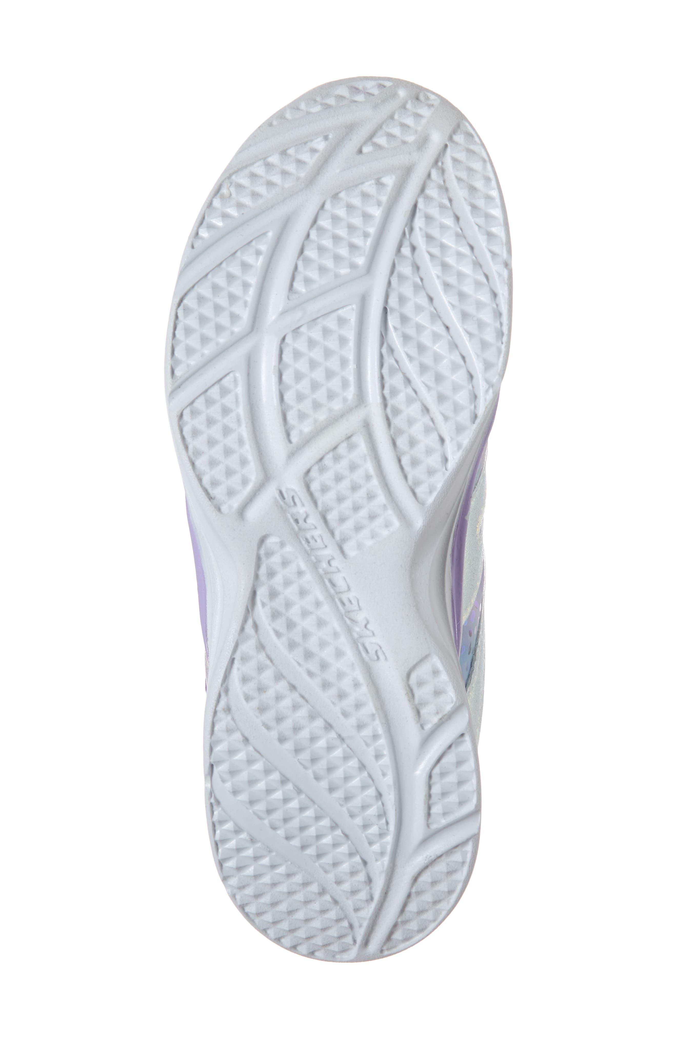 Double Dreams Shimmer Sneaker,                             Alternate thumbnail 6, color,                             LAVENDER/ MULTI
