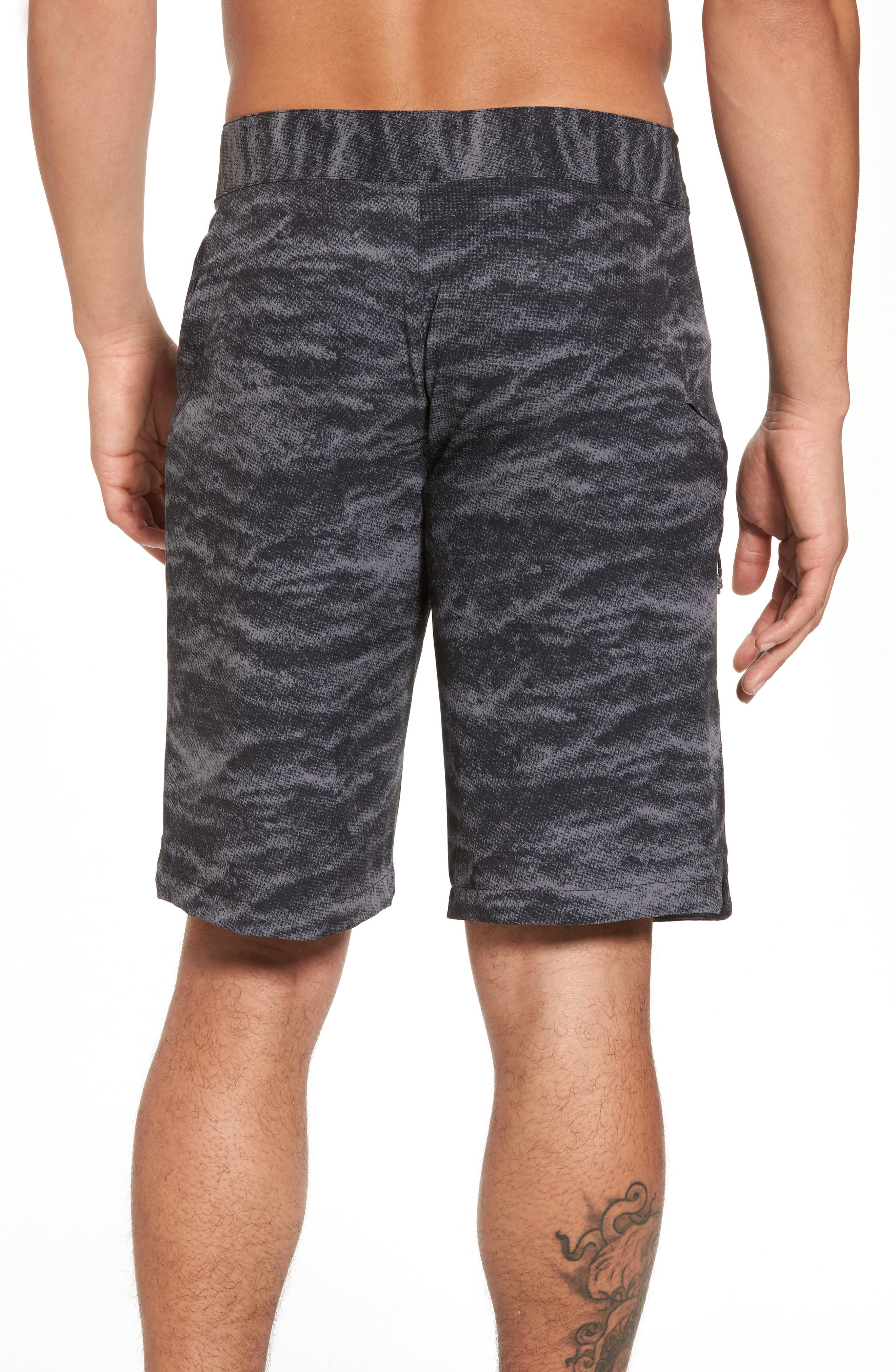 UNDER ARMOUR,                             Print Board Shorts,                             Alternate thumbnail 2, color,                             004