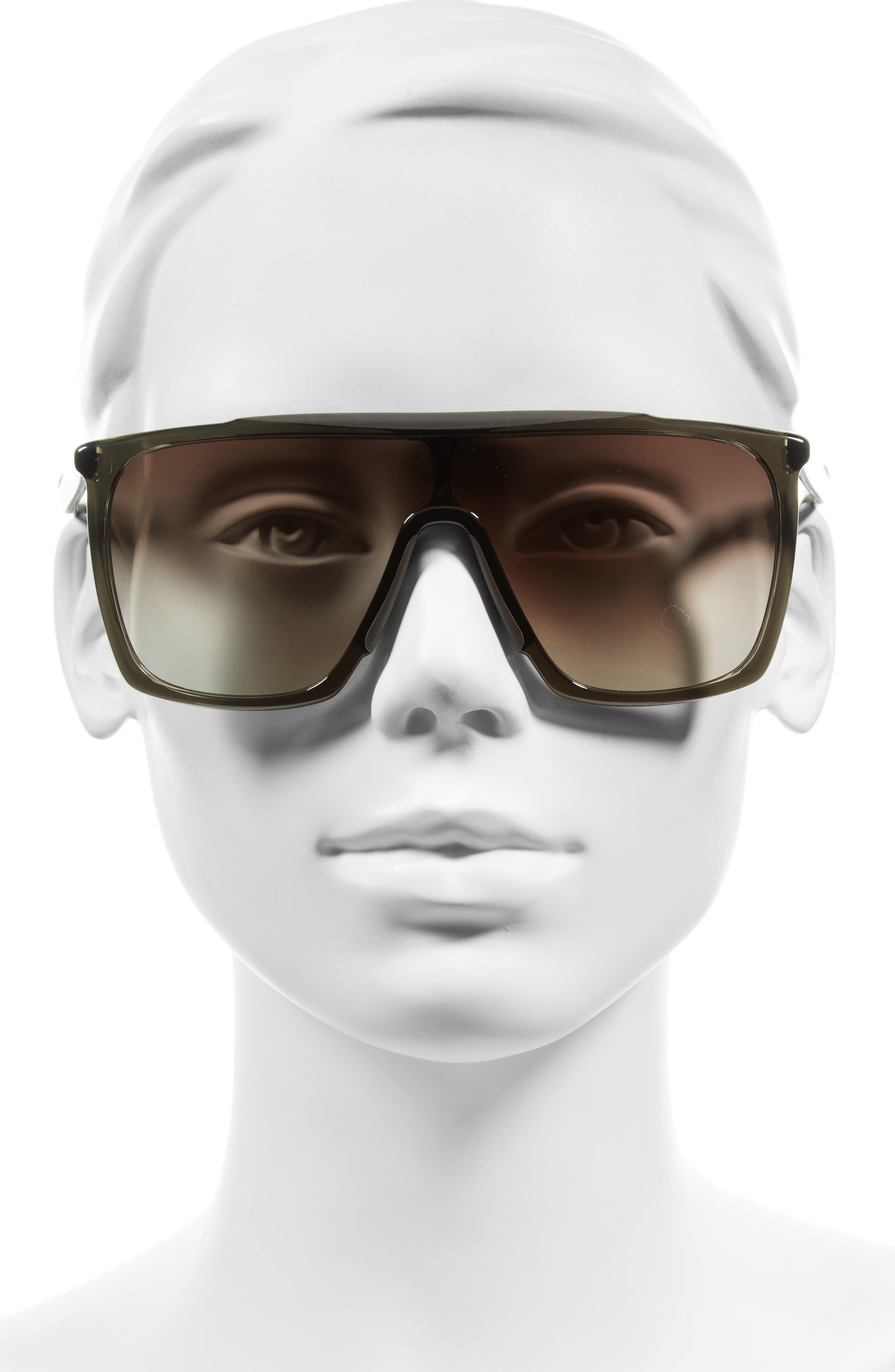 53mm Mask Sunglasses,                             Alternate thumbnail 5, color,