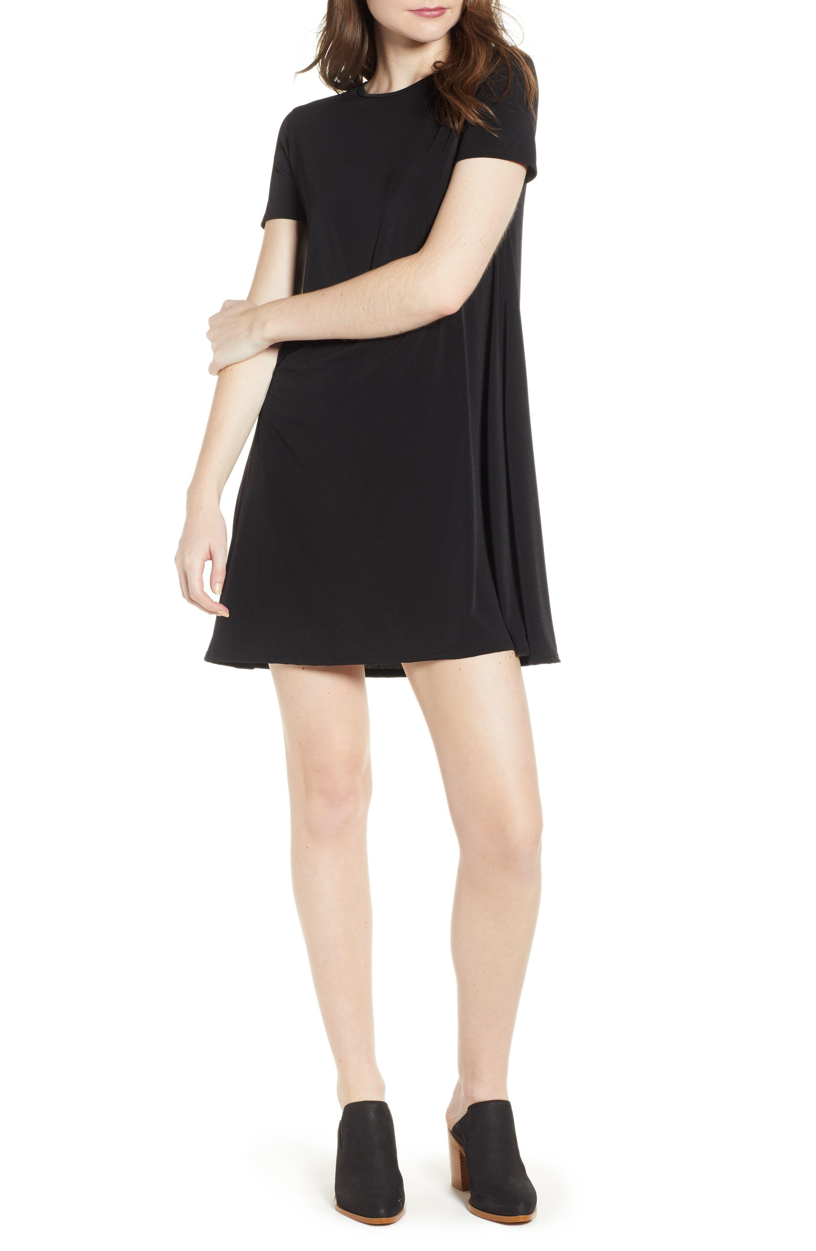 Swing T-Shirt Dress,                         Main,                         color, 001
