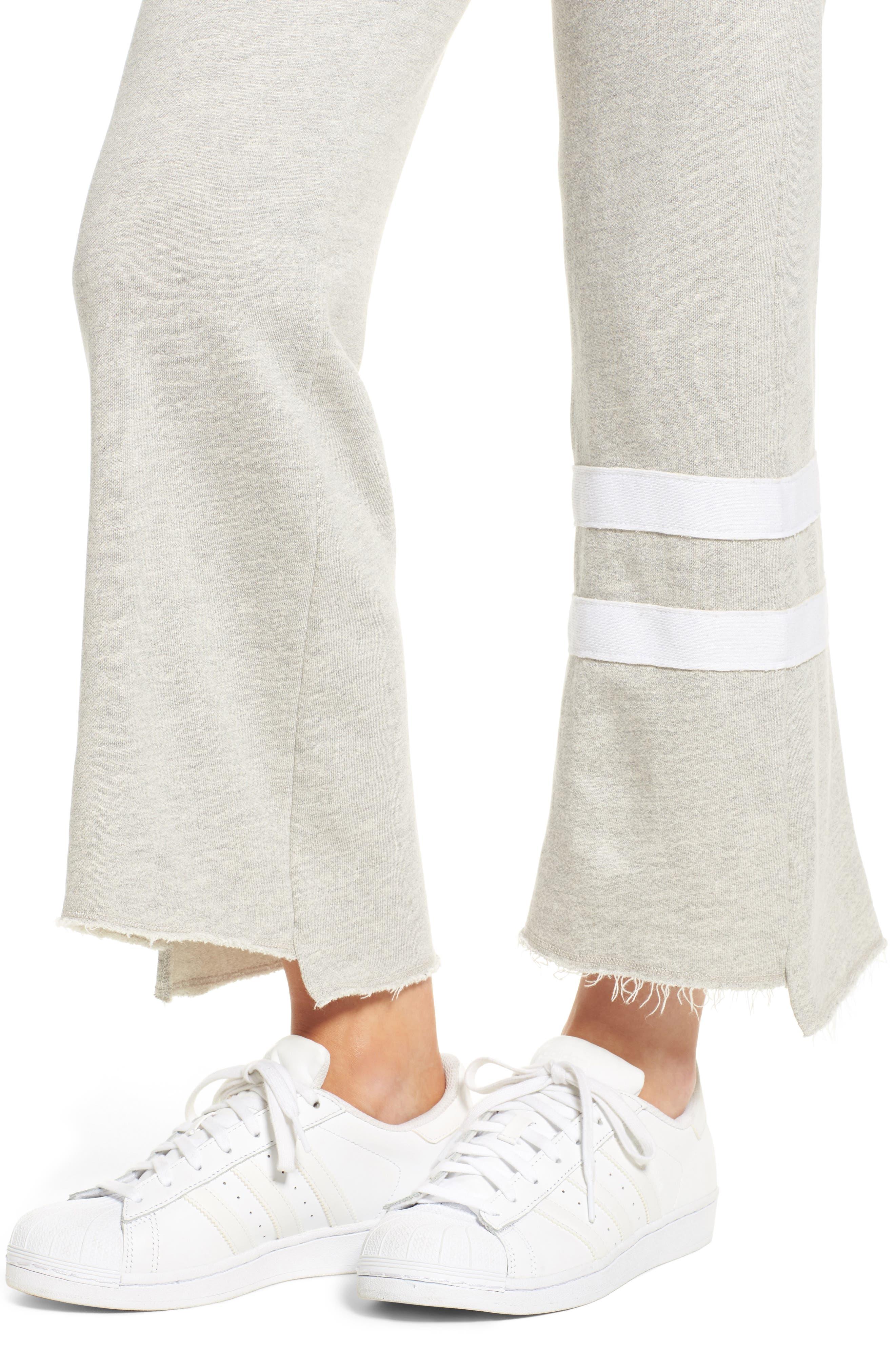 Stripe Flare Sweatpants,                             Alternate thumbnail 4, color,                             039