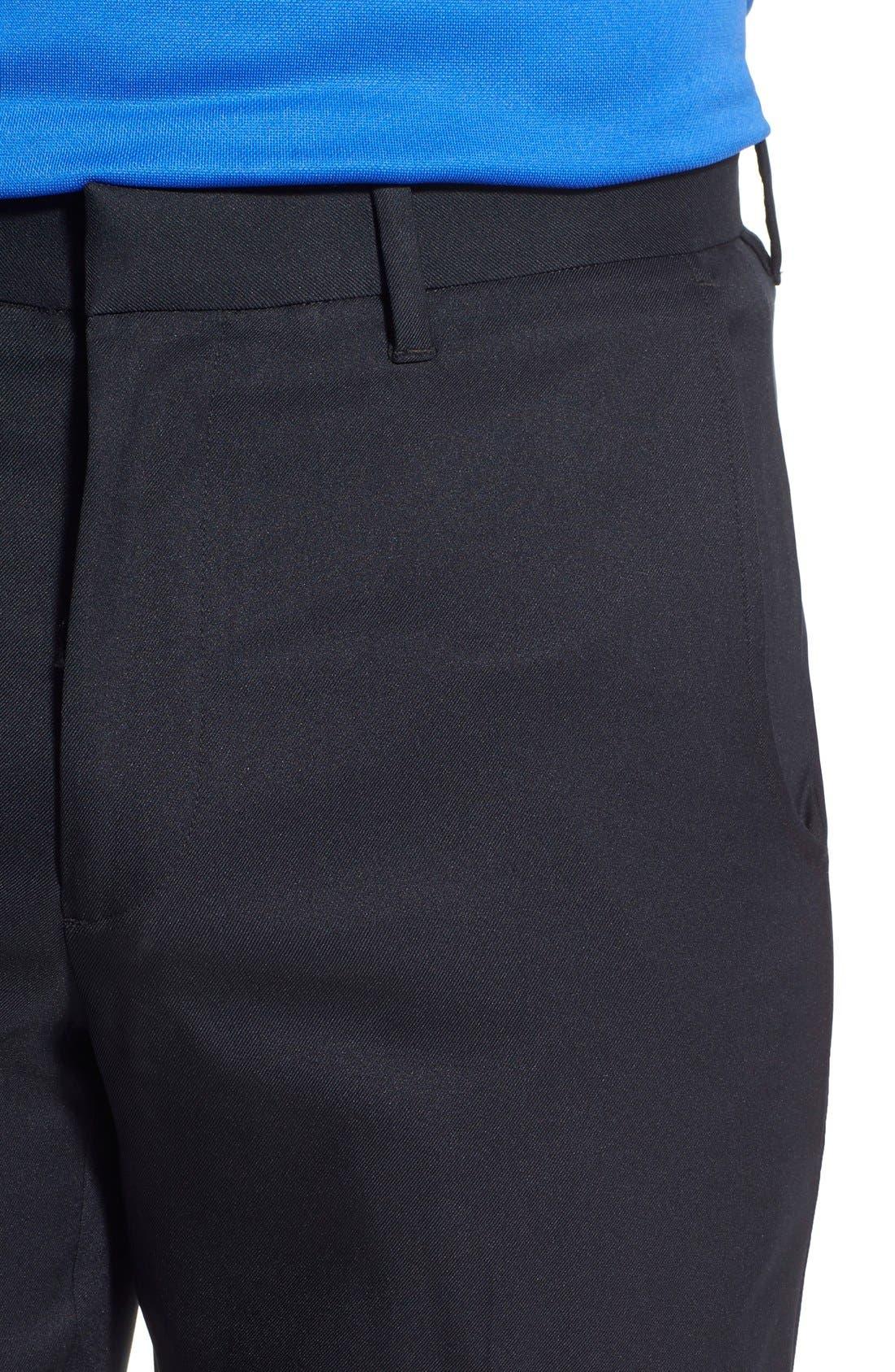 'Tech' Flat Front Wrinkle Free Golf Pants,                             Alternate thumbnail 23, color,