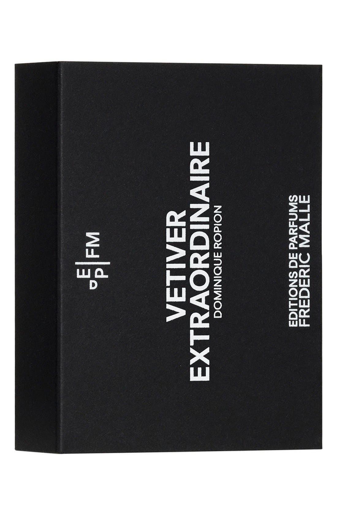 Editions de Parfums Frédéric Malle Vetiver Extraordinaire Fragrance Travel Spray Trio,                             Alternate thumbnail 5, color,                             000