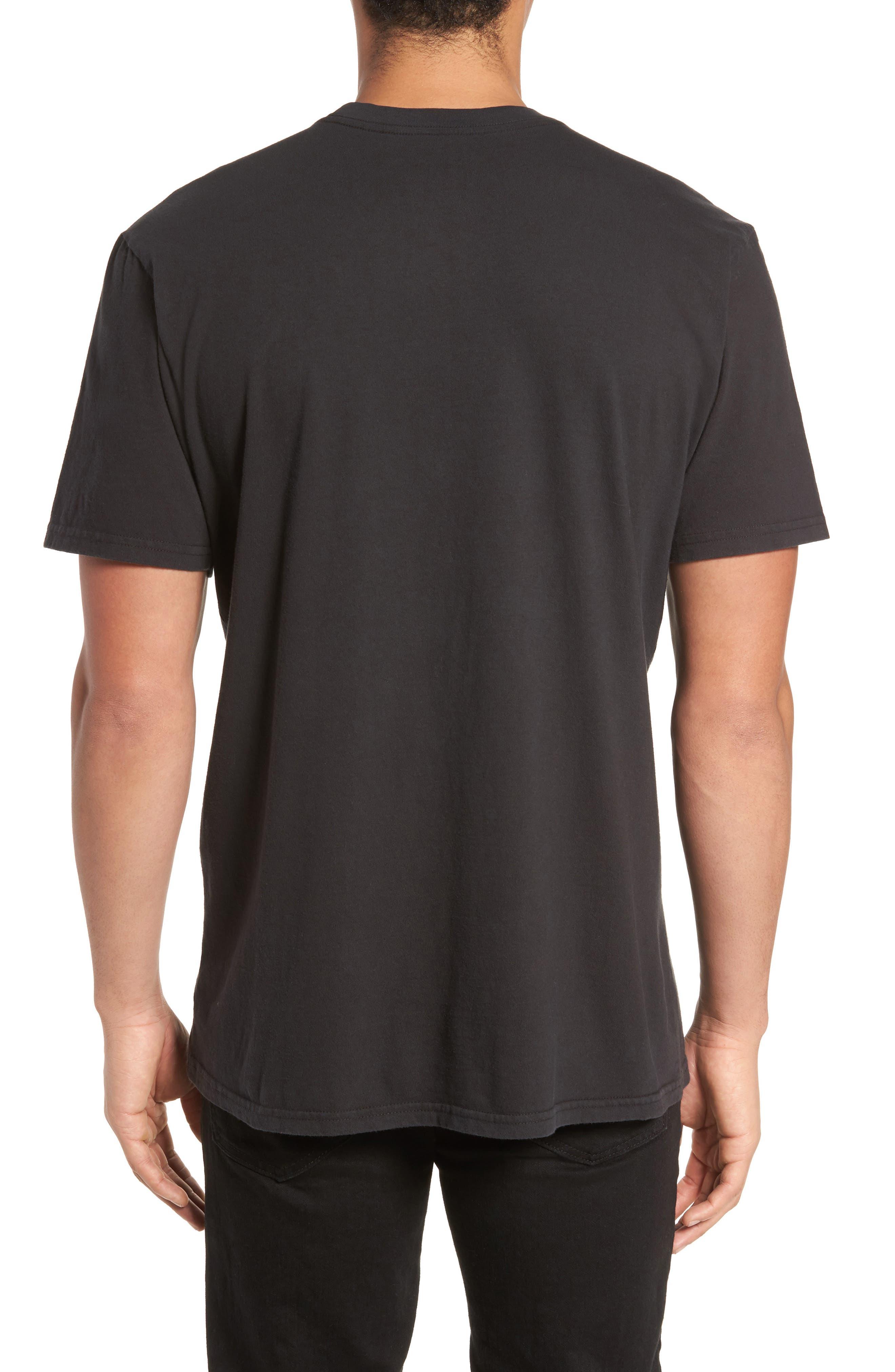 Iggy Pop x Billabong Iguana T-Shirt,                             Alternate thumbnail 2, color,                             001