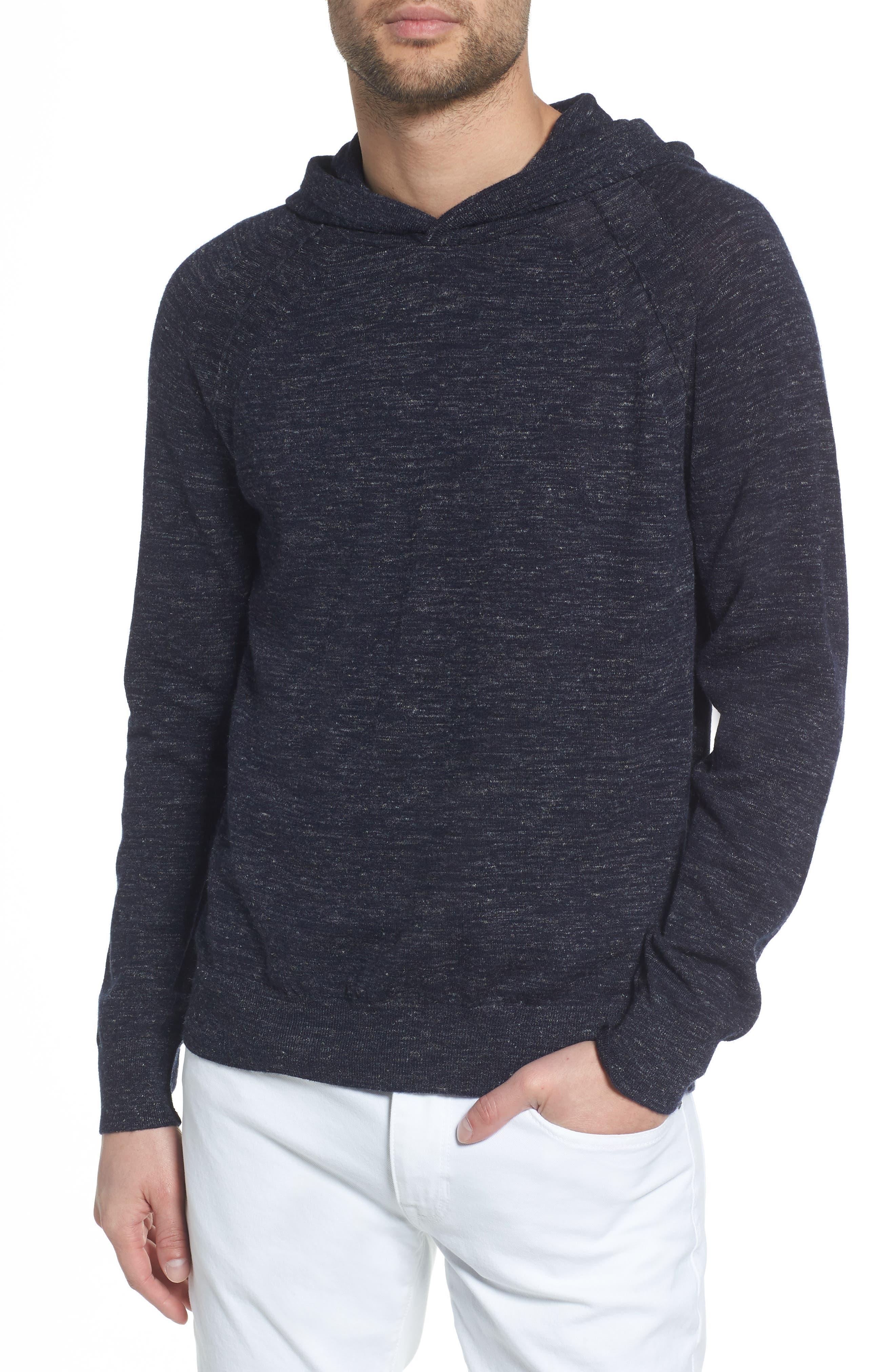Long Sleeve Pullover Hoodie,                             Main thumbnail 1, color,                             NEW COASTAL