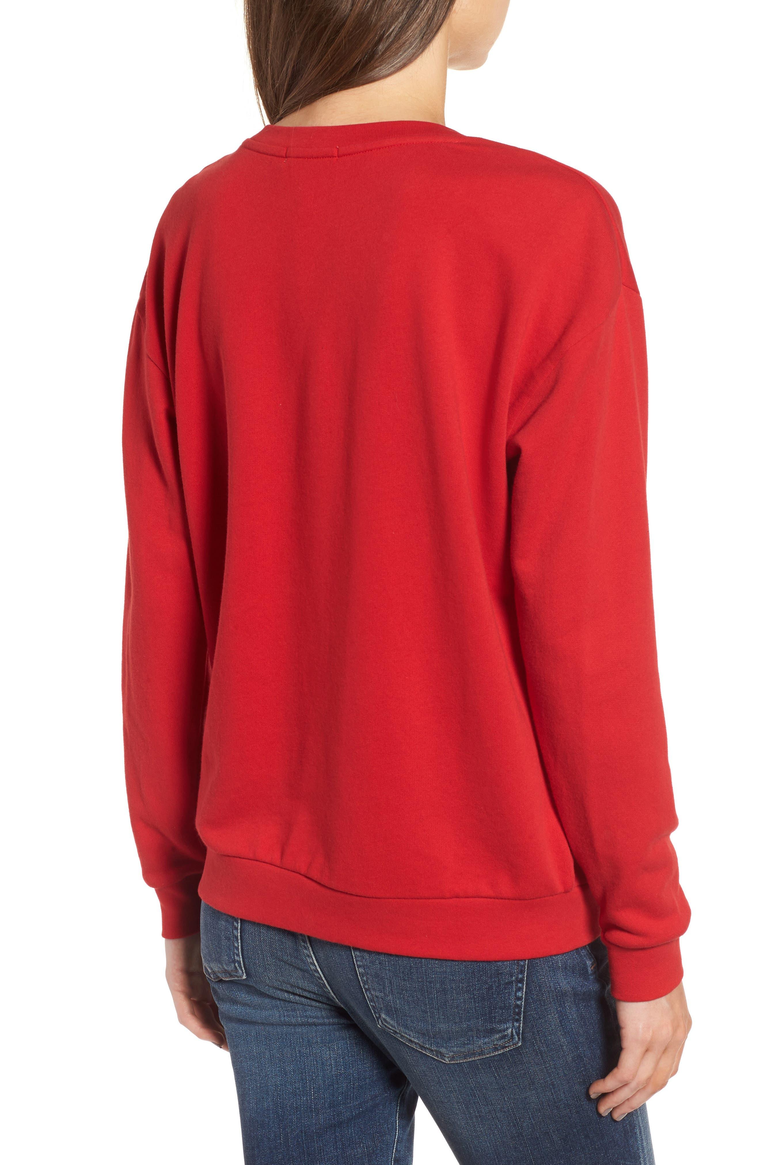 Let's Take an Elfie Sweatshirt,                             Alternate thumbnail 2, color,                             600