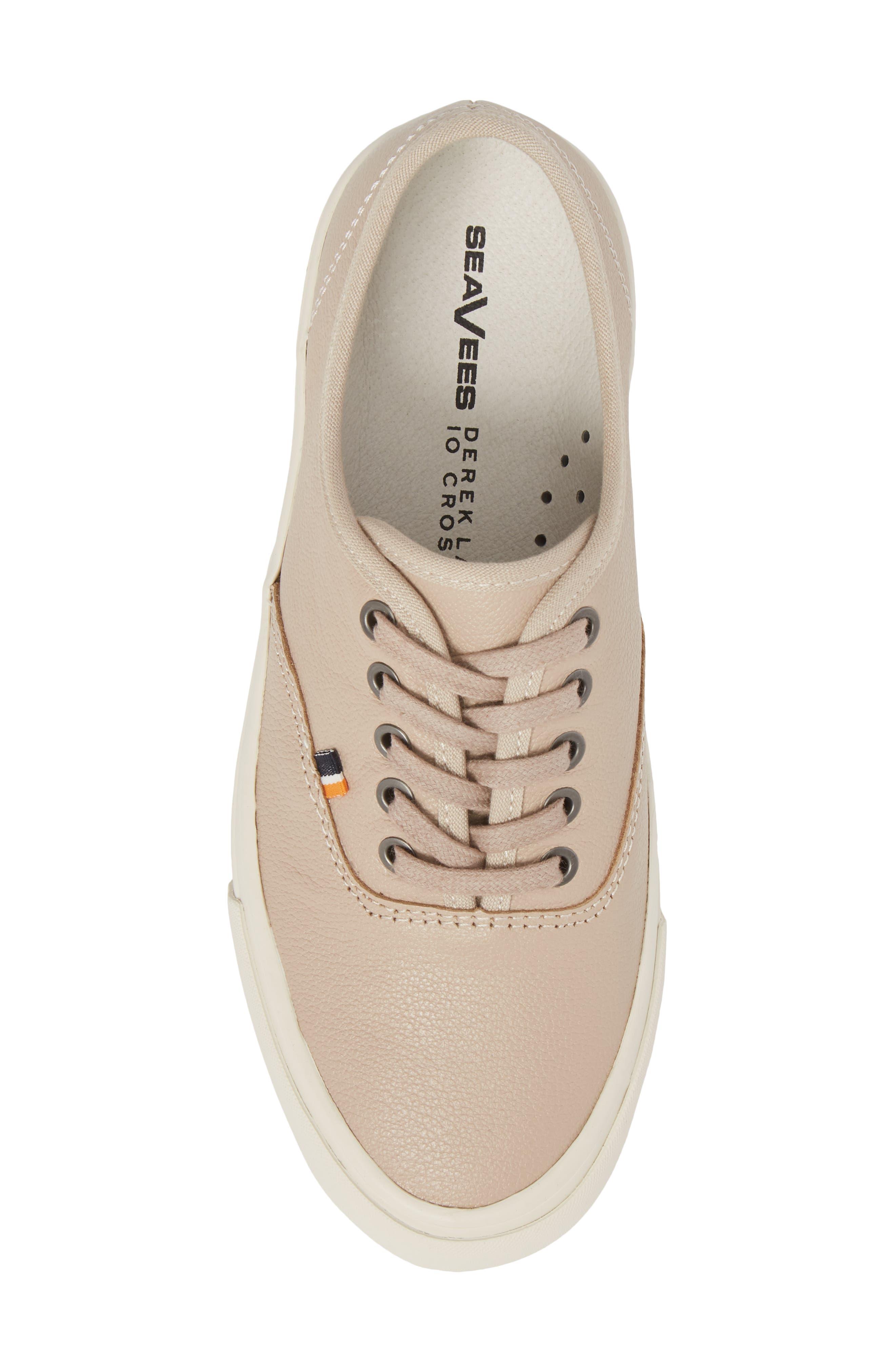 x Derek Lam 10 Crosby Legend Caballero Sneaker,                             Alternate thumbnail 5, color,                             BISQUE