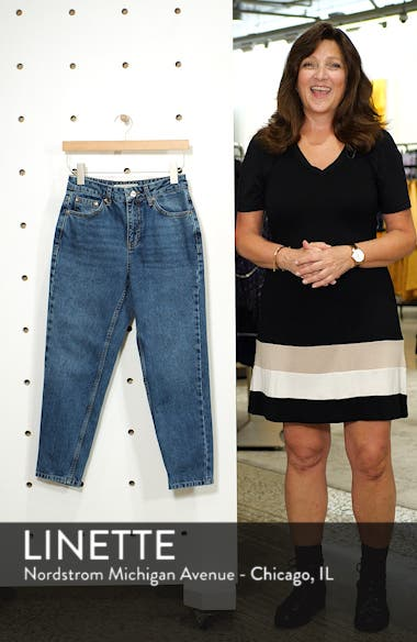 Petite Mid Denim Mom Jeans, sales video thumbnail