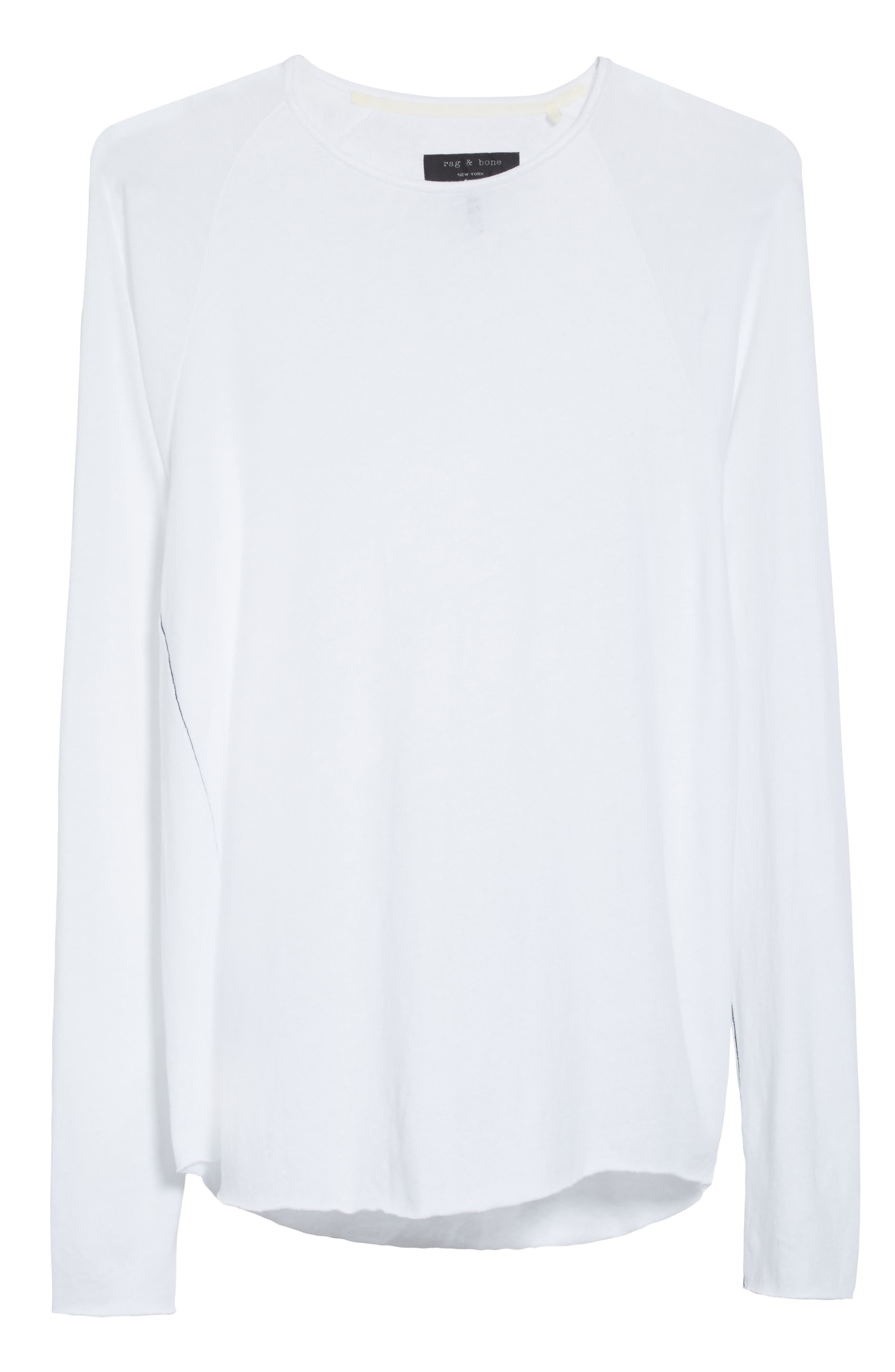 Rupert Long Sleeve T-Shirt,                             Alternate thumbnail 6, color,                             100