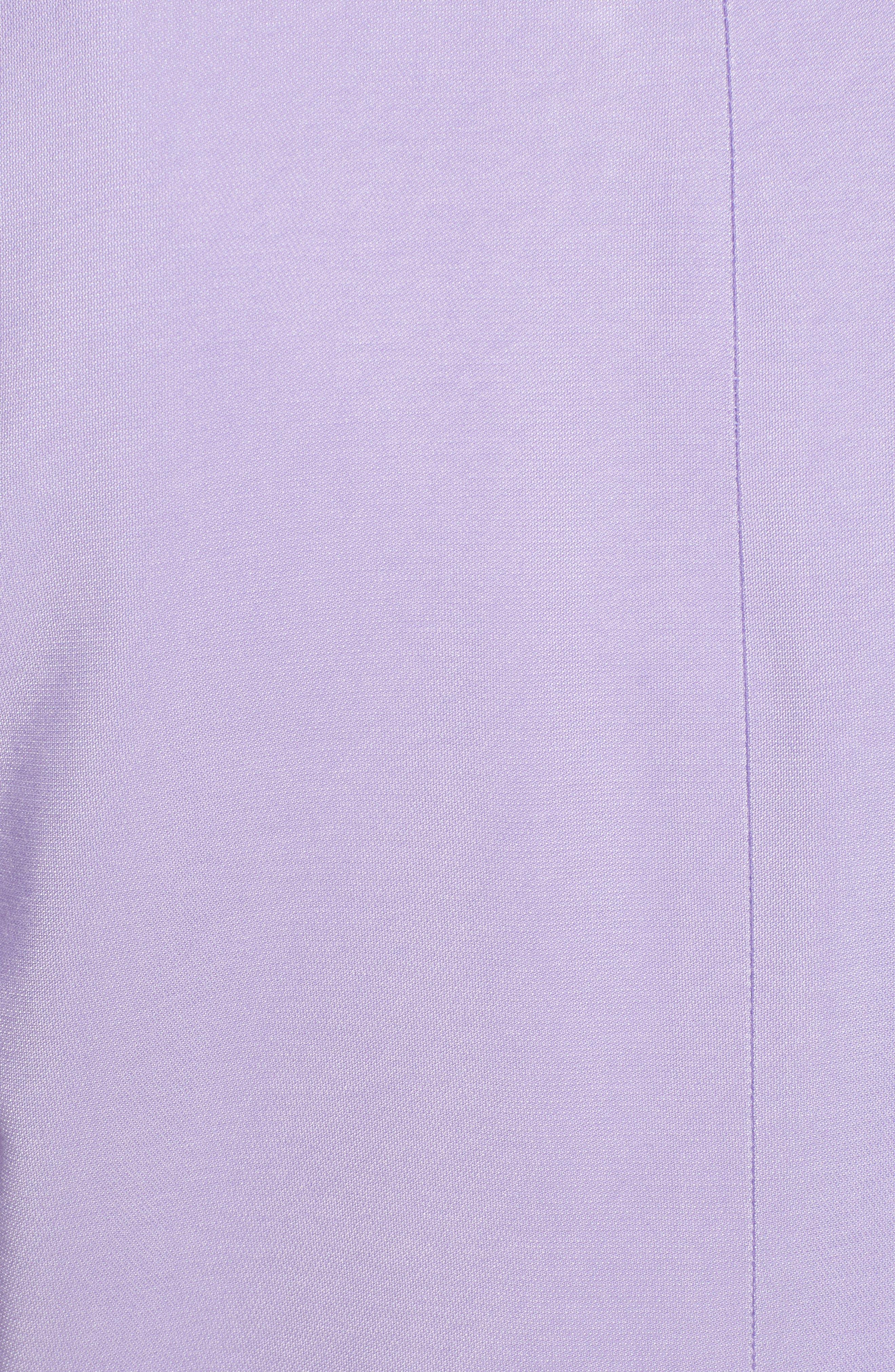 Belted Jacket,                             Alternate thumbnail 8, color,                             PURPLE BONNET