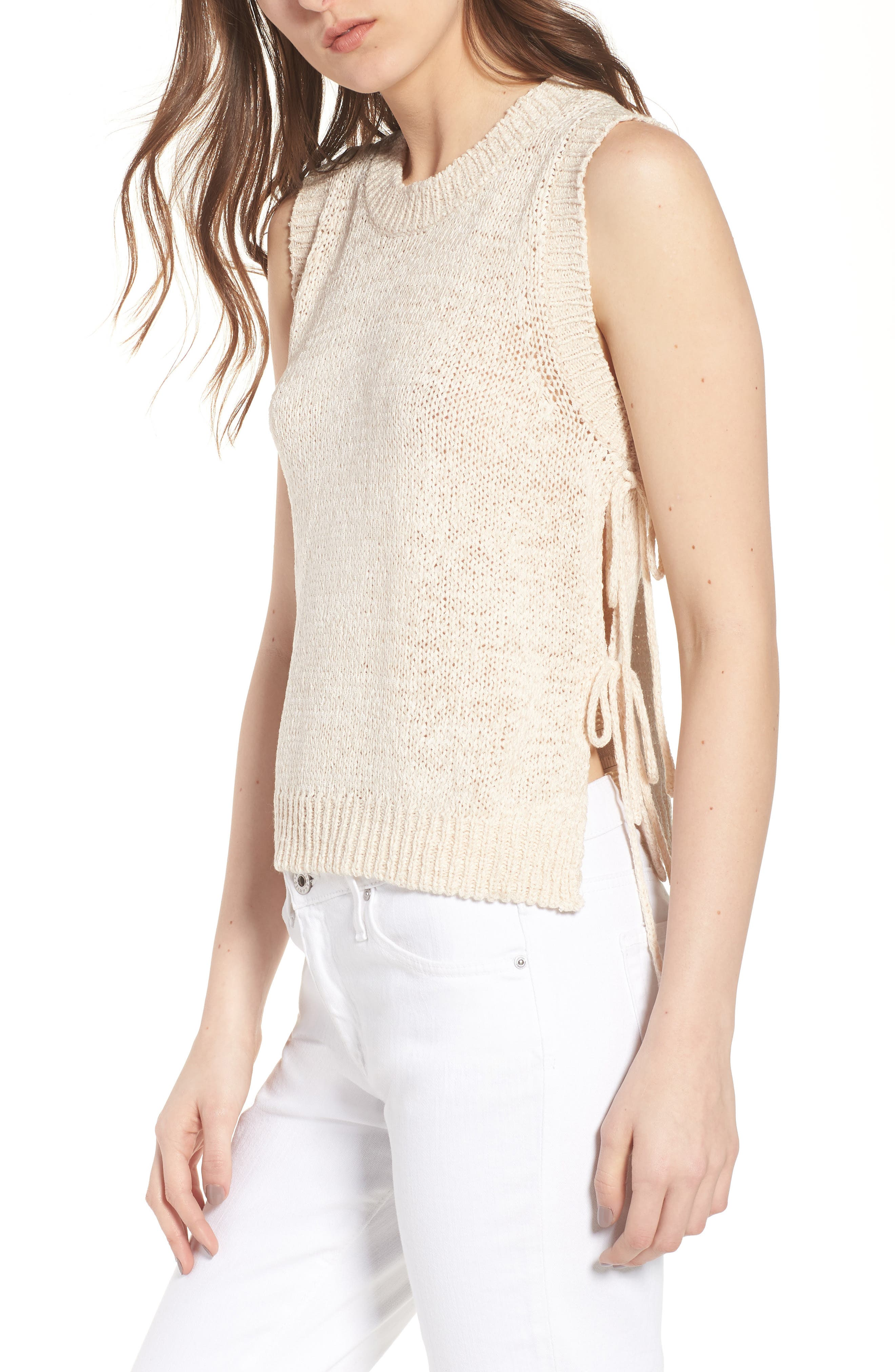 CUPCAKES AND CASHMERE Chantell Sweater Tank, Main, color, 250