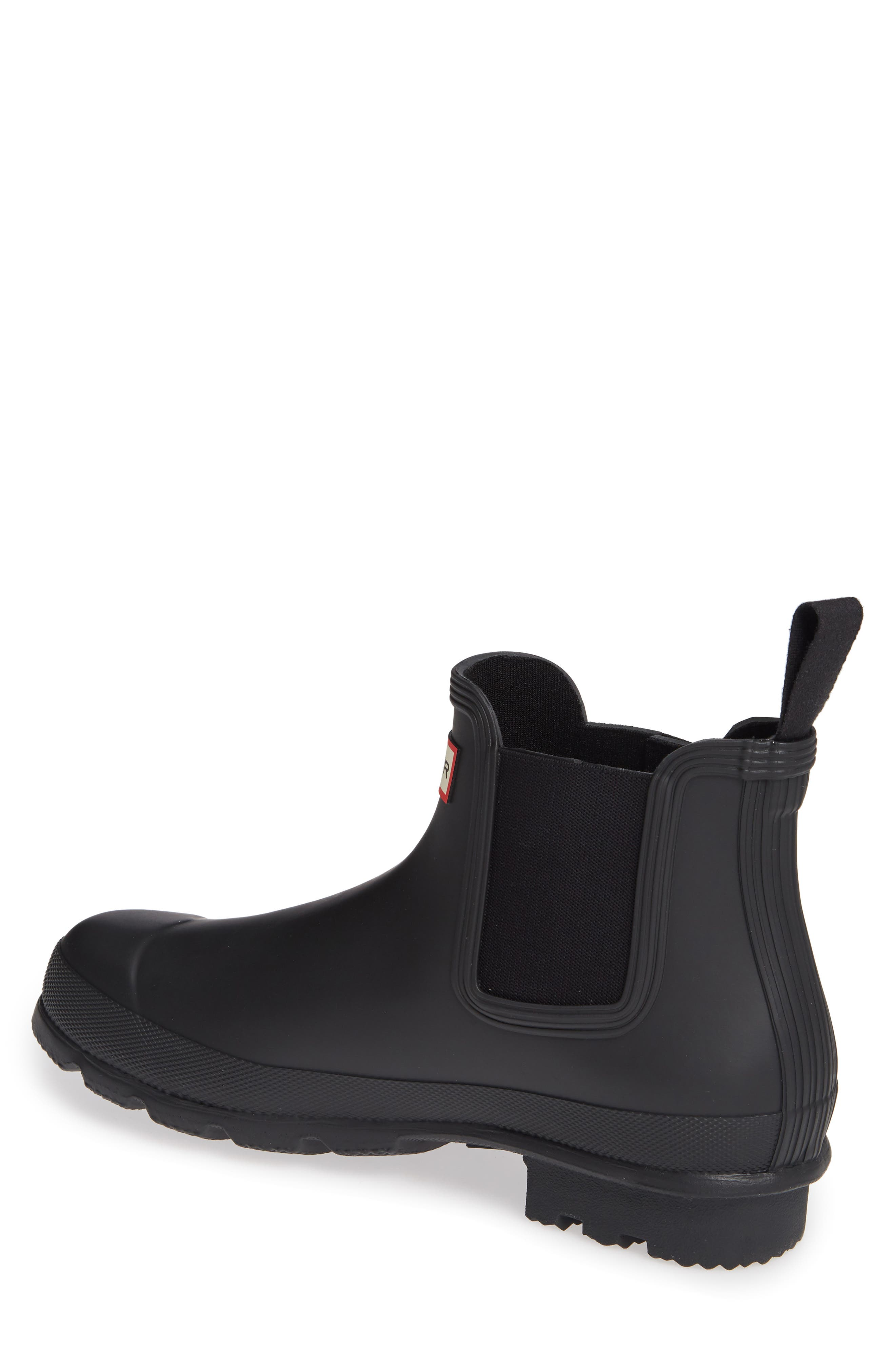 HUNTER,                             'Original' Waterproof Chelsea Rain Boot,                             Alternate thumbnail 2, color,                             002