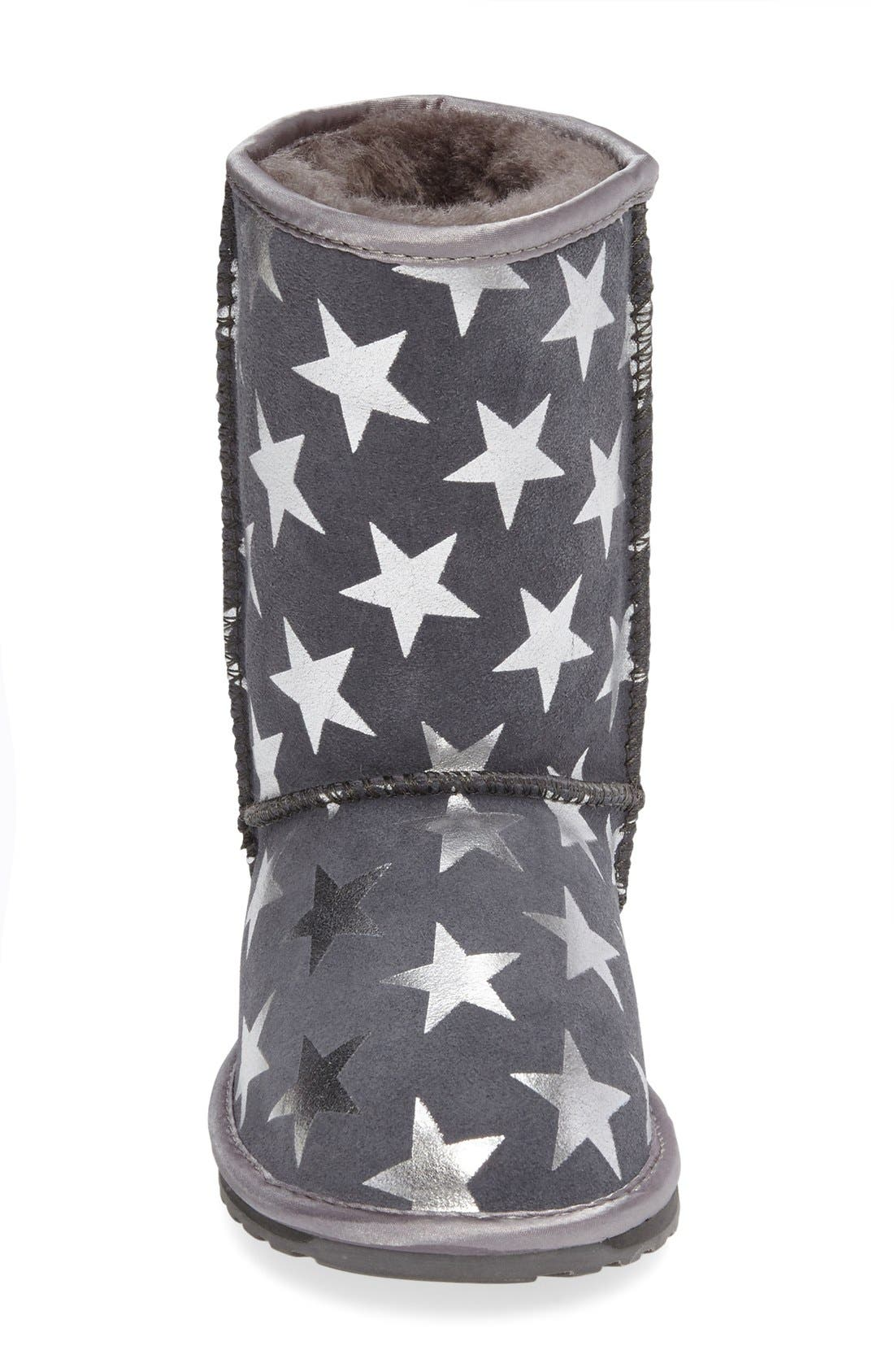 EMUAustralia Starry Night Boot,                             Alternate thumbnail 6, color,                             CHARCOAL