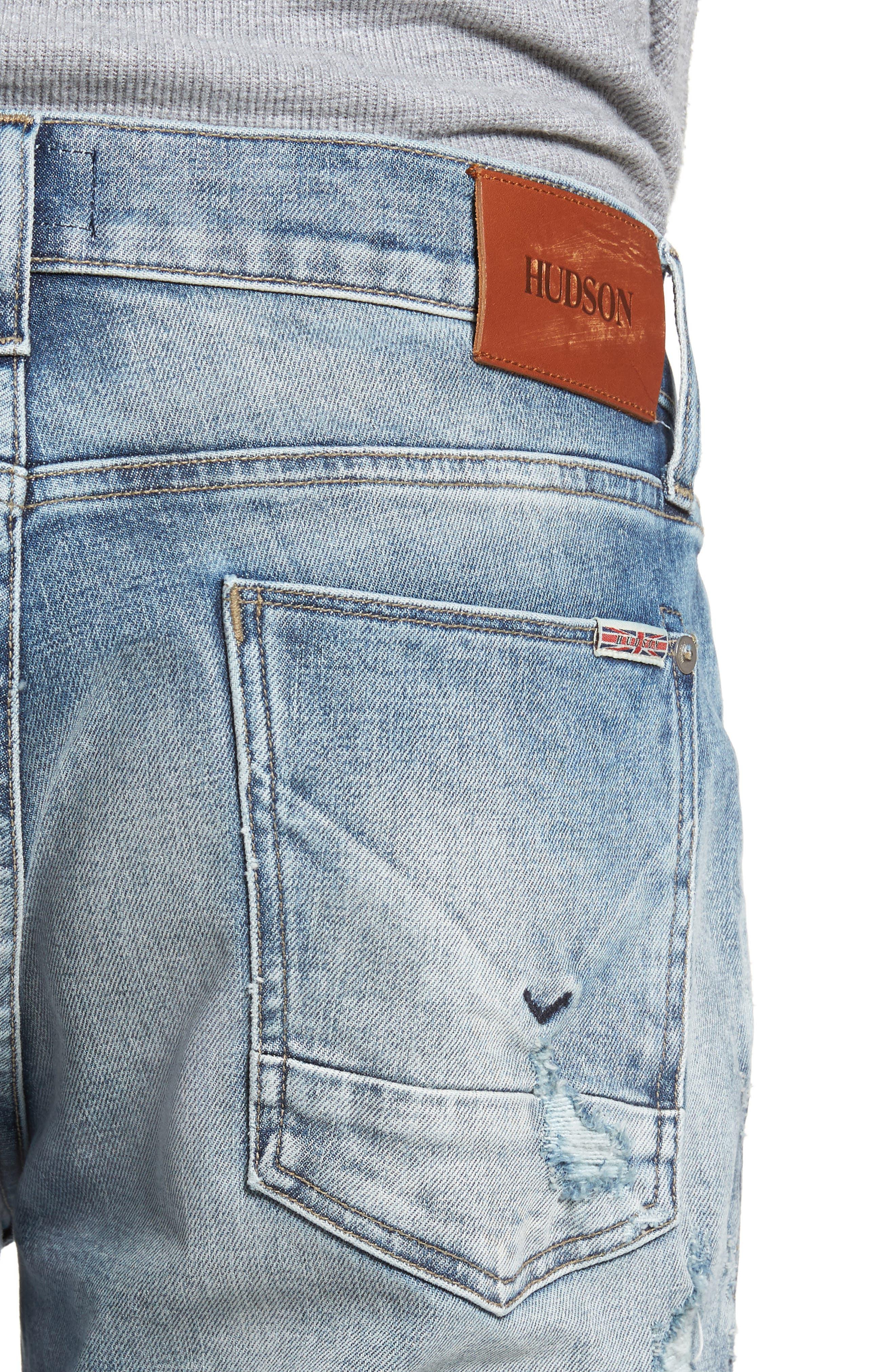 Blake Slim Fit Jeans,                             Alternate thumbnail 4, color,                             451