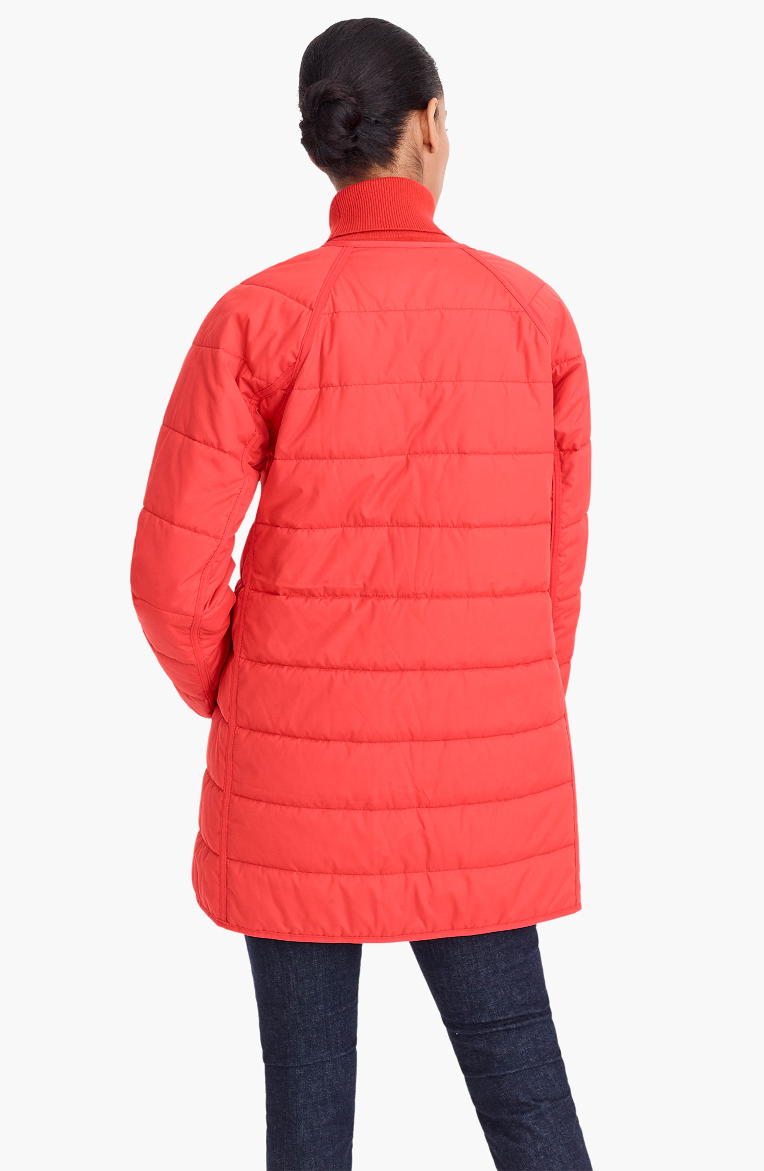 Reversible Puffer Jacket,                             Alternate thumbnail 5, color,                             400