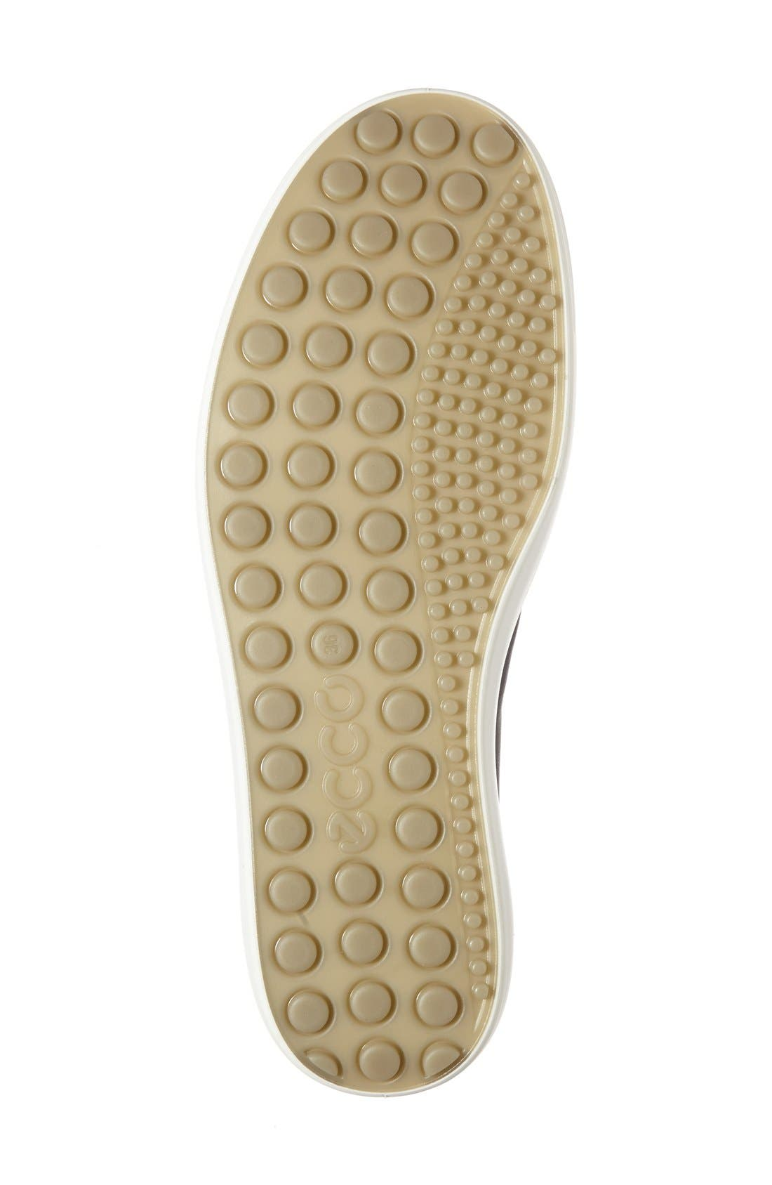 'Soft 7' Quilted High Top Sneaker,                             Alternate thumbnail 2, color,                             009