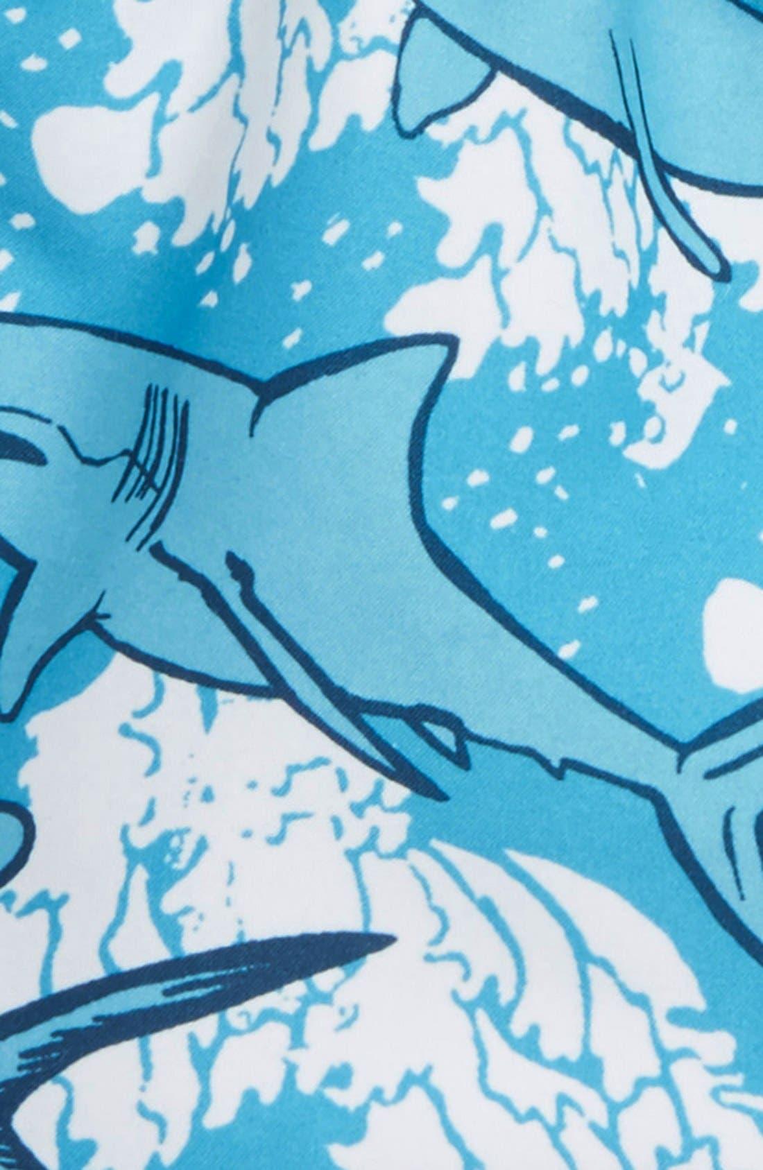 Print Swim Trunks,                             Alternate thumbnail 9, color,