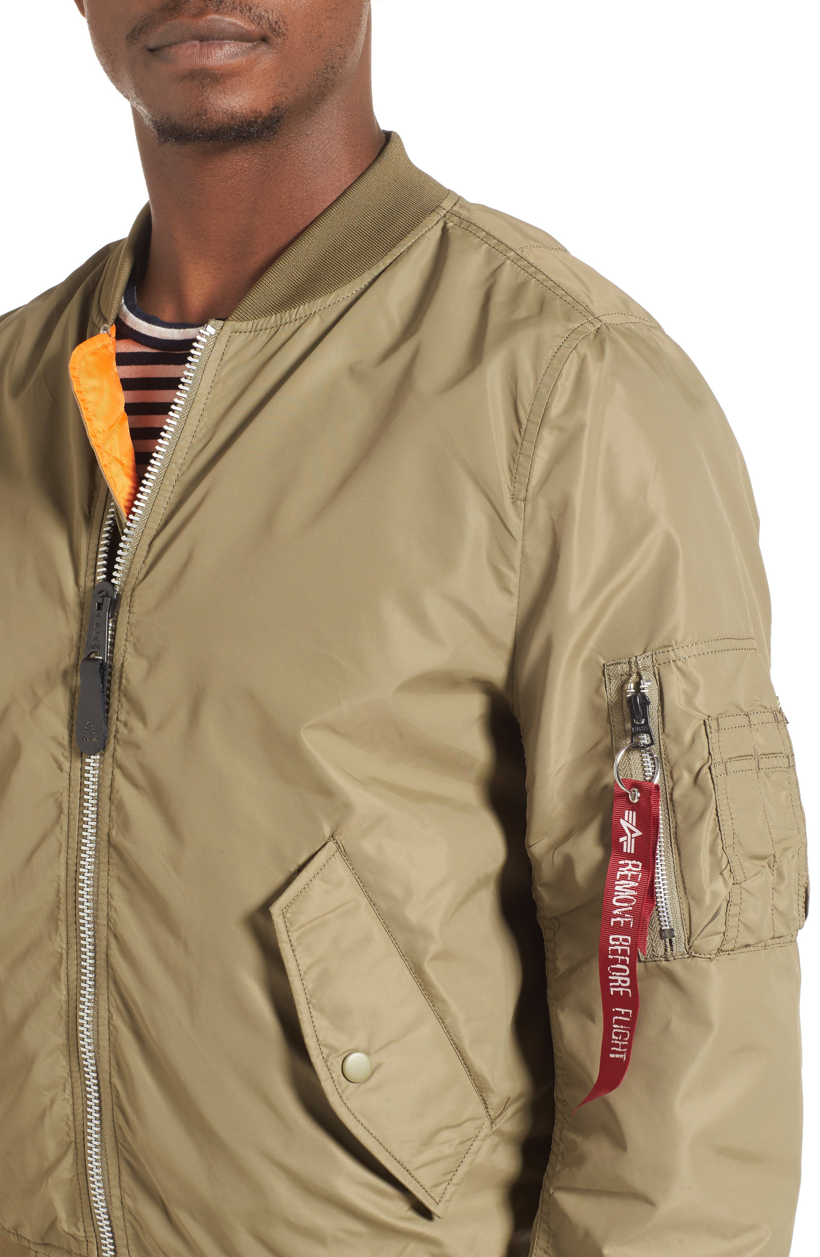 LB-2 Scout Reversible Flight Jacket,                             Alternate thumbnail 29, color,