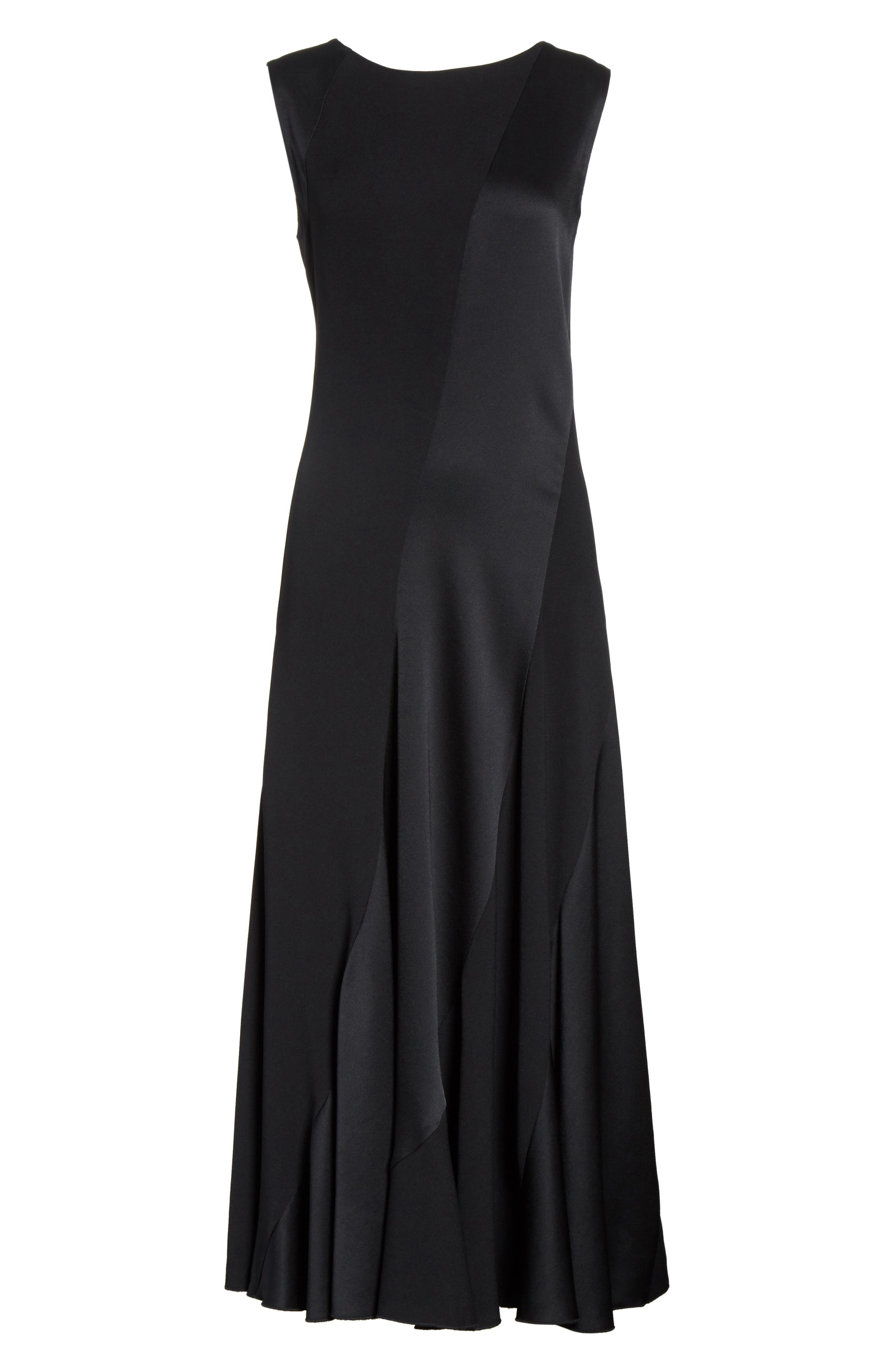 Hailee Sleeveless Midi Dress,                             Alternate thumbnail 6, color,