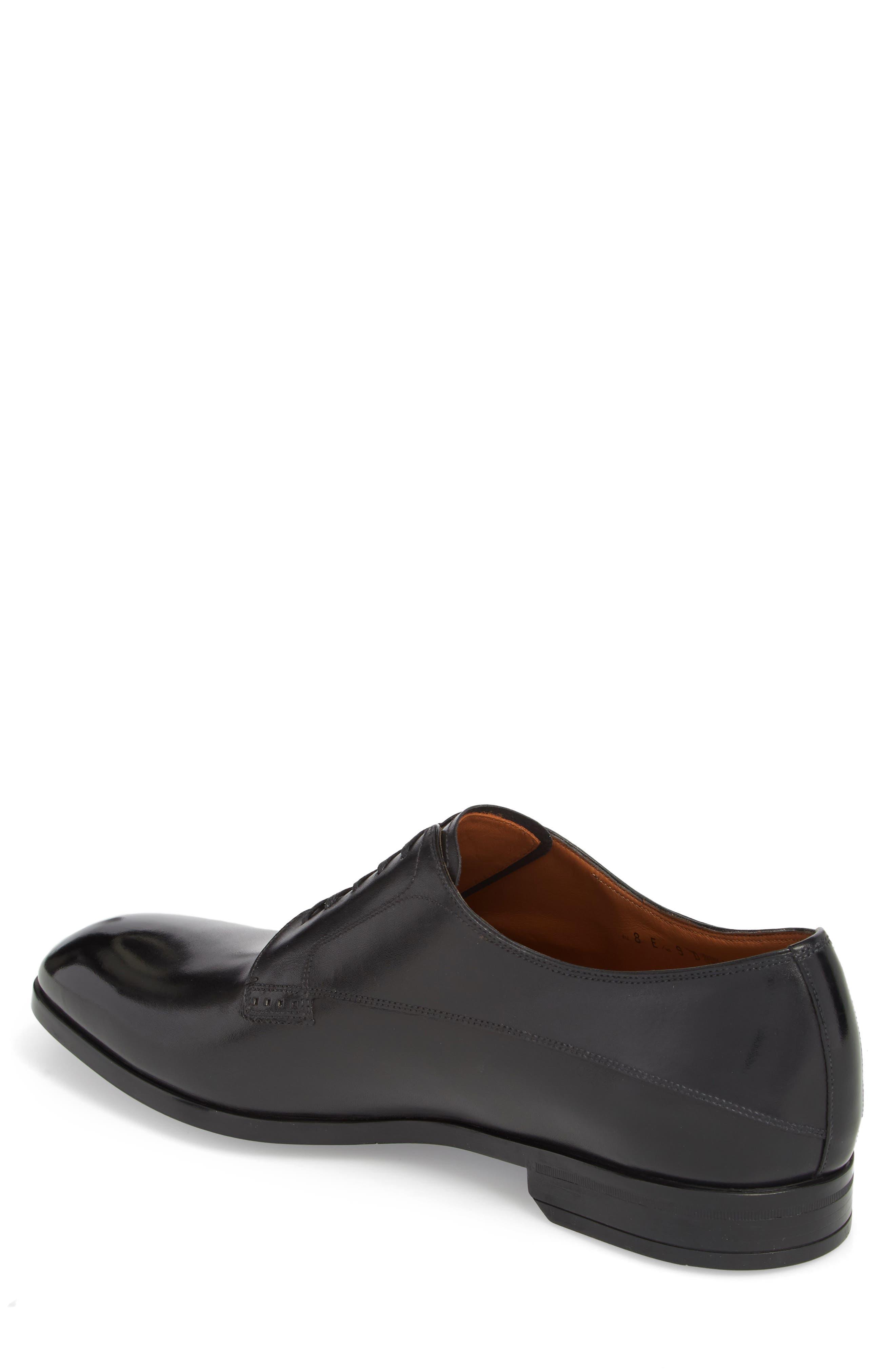 Lantel Plain Toe Derby,                             Alternate thumbnail 2, color,                             BLACK