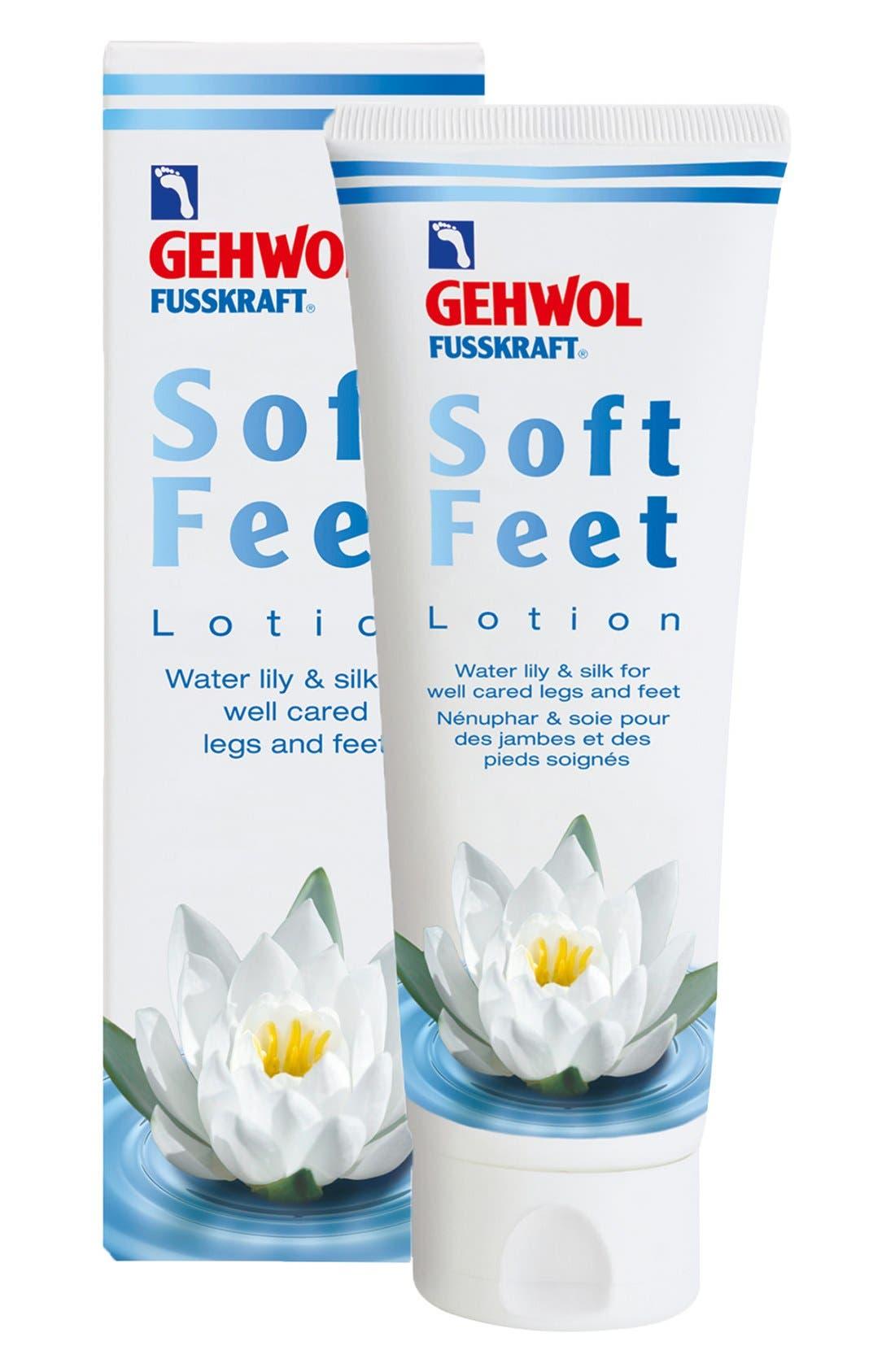 Soft Feet Lotion,                             Main thumbnail 1, color,                             NO COLOR