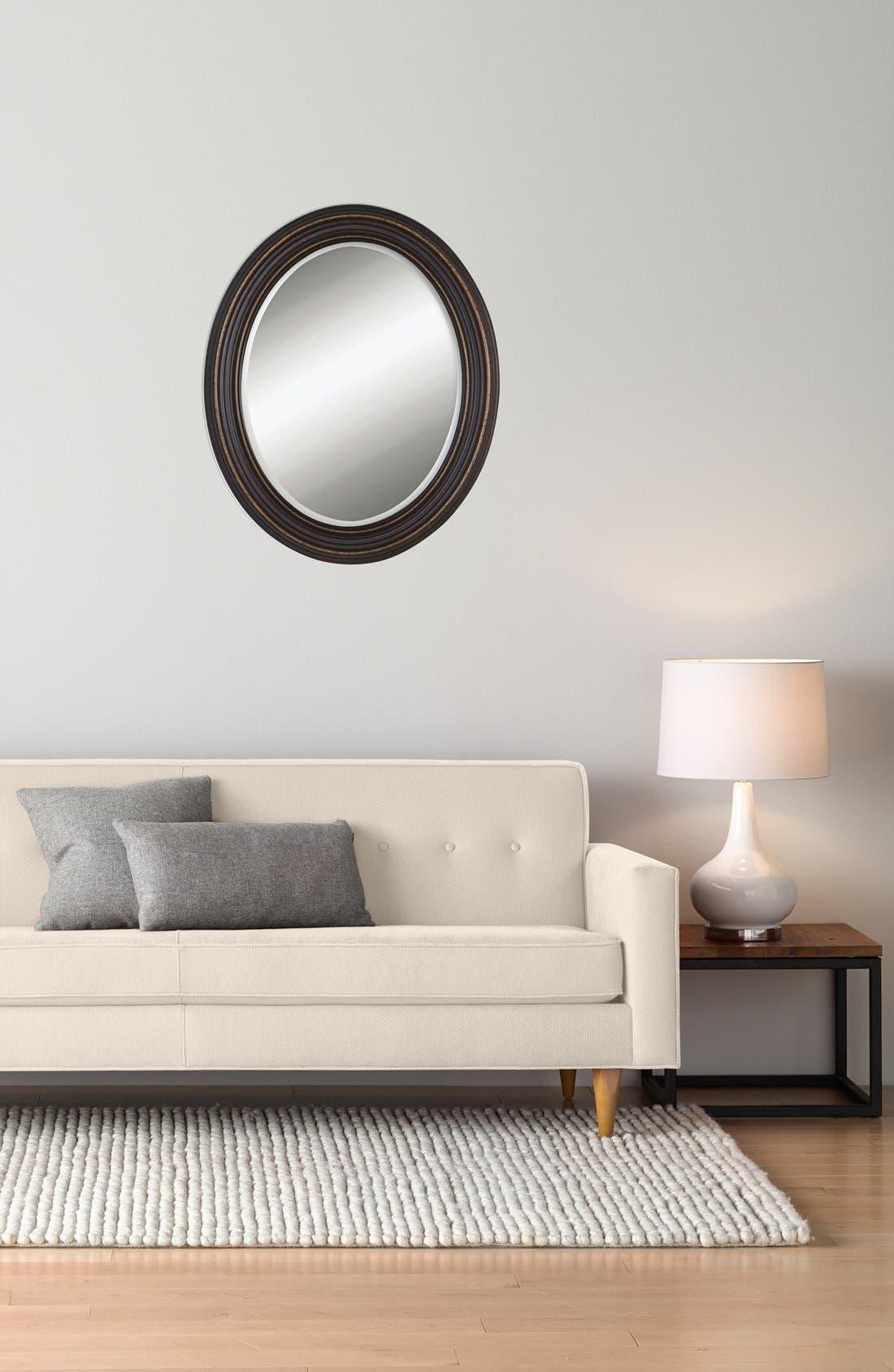 'Ovesca' Oval Mirror,                             Alternate thumbnail 2, color,                             001