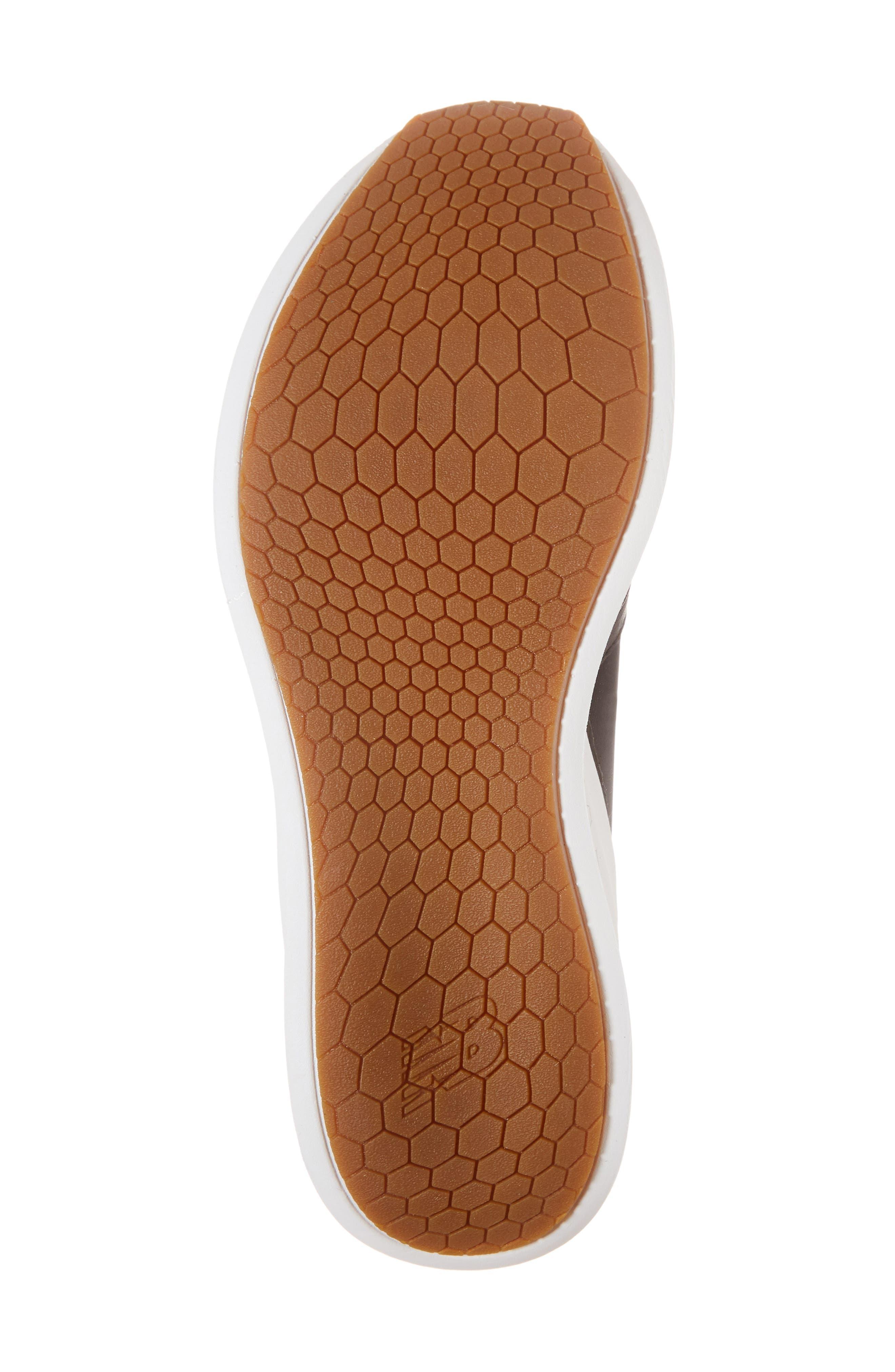 Fresh Foam Laser Luxe Sneaker,                             Alternate thumbnail 6, color,                             001