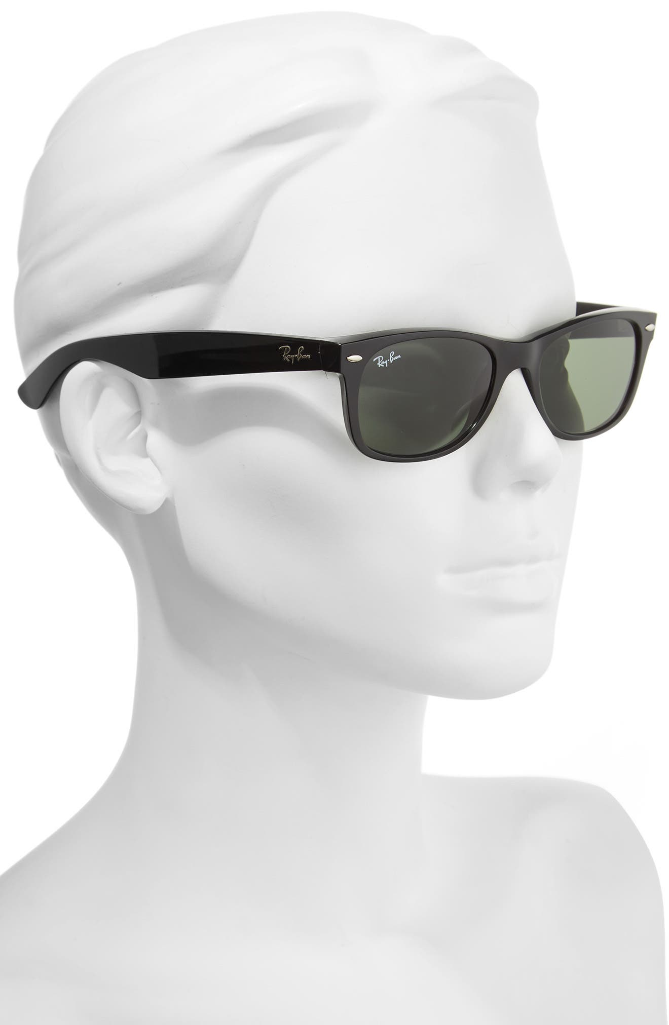 Small New Wayfarer 52mm Sunglasses,                             Alternate thumbnail 3, color,                             002