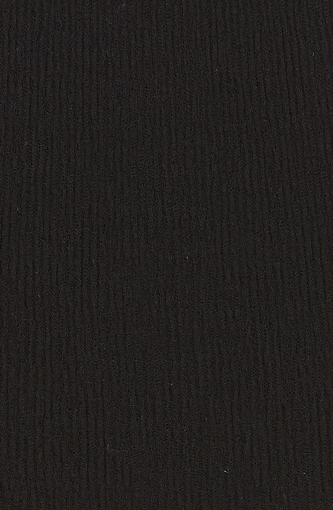 PSWL Jersey Gauze Dress,                             Alternate thumbnail 5, color,                             001