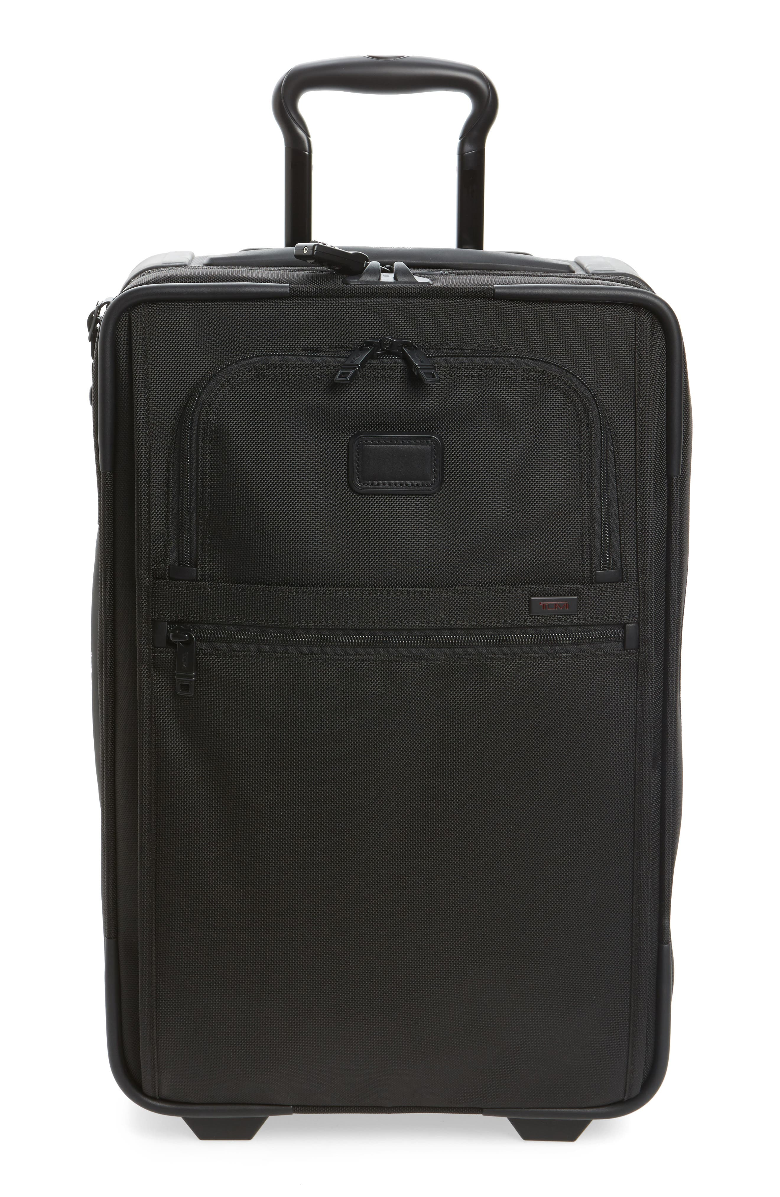 Alpha 2 22-Inch International Carry-On,                             Main thumbnail 1, color,                             BLACK