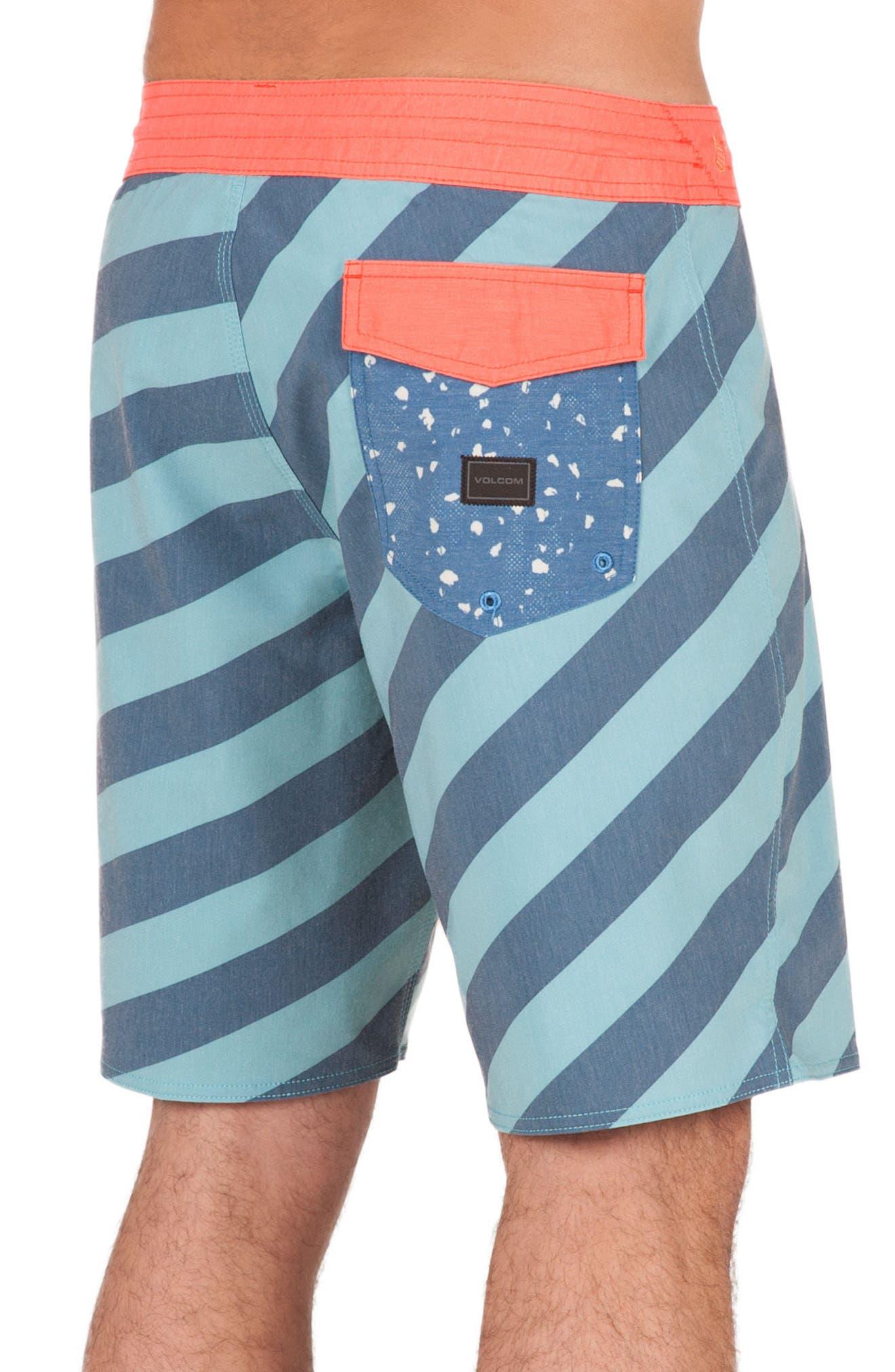 Stripey Slinger Board Shorts,                             Alternate thumbnail 16, color,