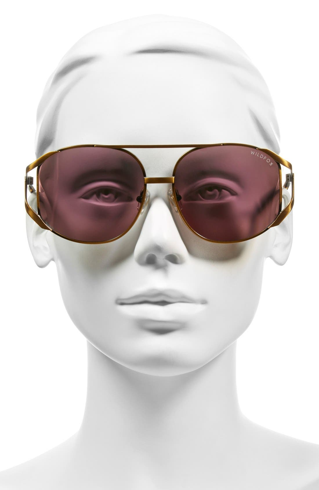 WILDFOX,                             'Dynasty Deluxe' 59mm Retro Sunglasses,                             Alternate thumbnail 2, color,                             710