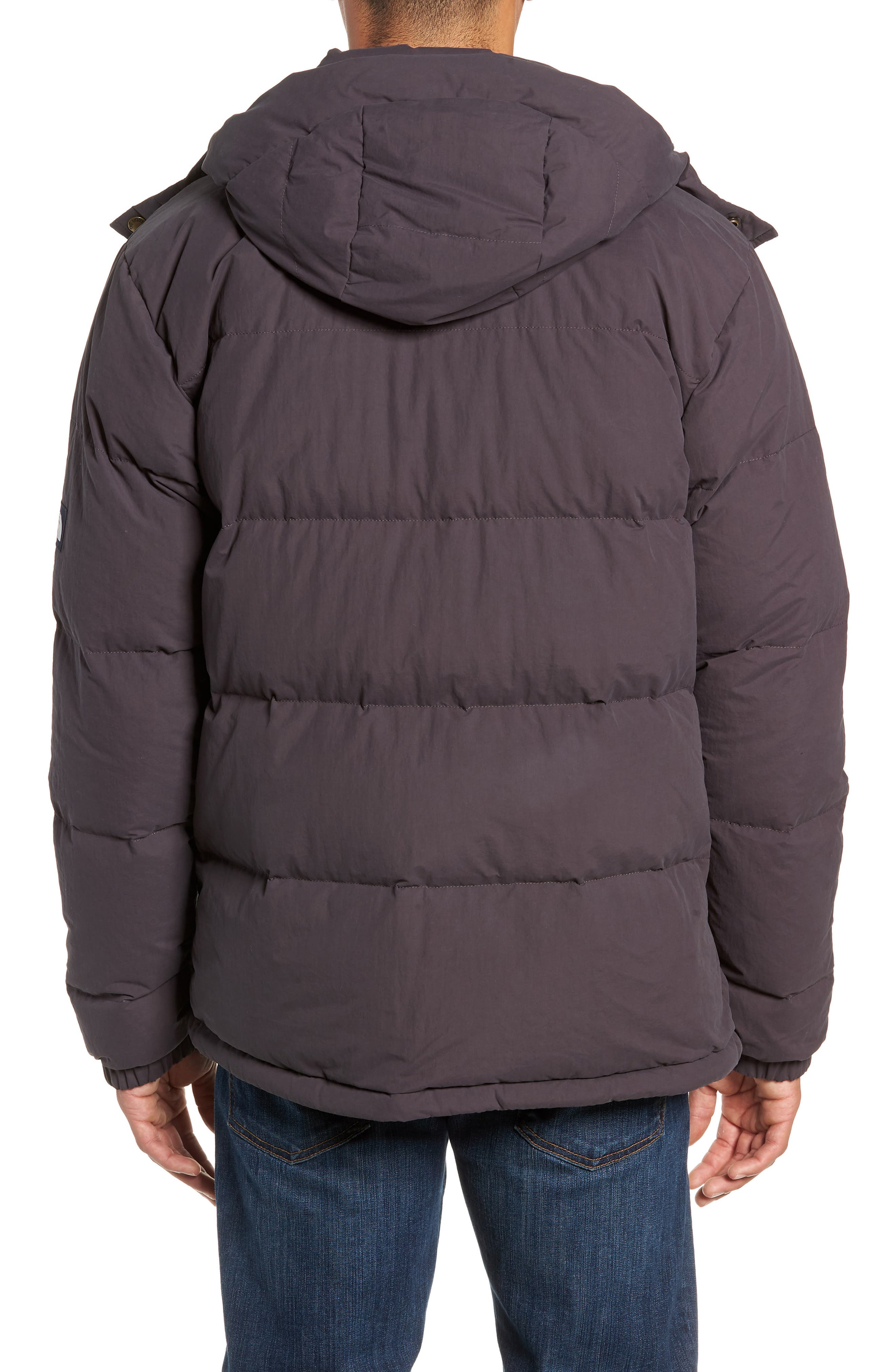 Sierra 2.0 Water Resistant Down Insulated Hooded Parka,                             Alternate thumbnail 2, color,                             WEATHERED BLACK