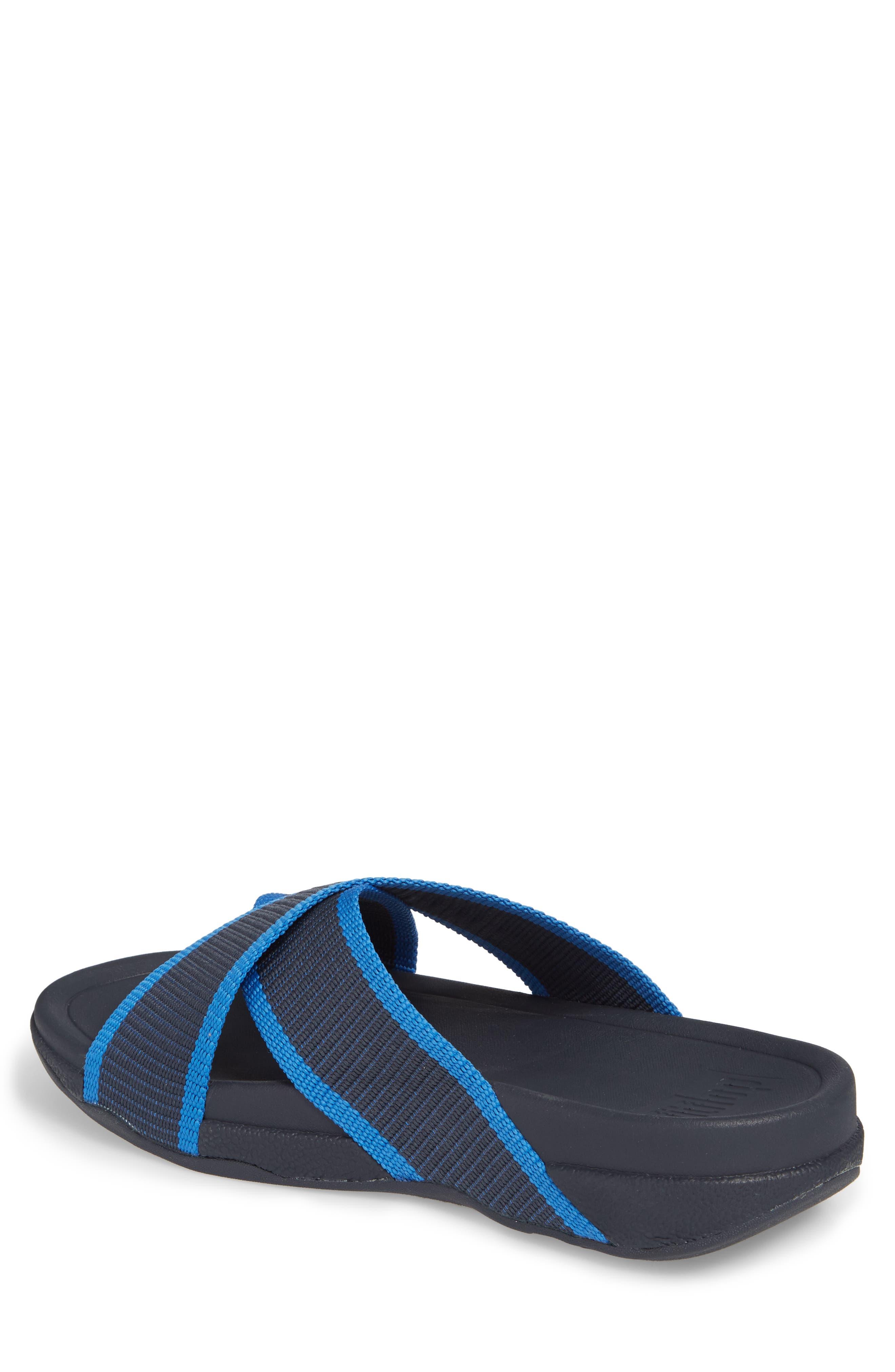 Surfer Slide Sandal,                             Alternate thumbnail 2, color,                             SUPERNAVY BLUE